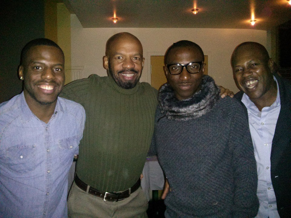 Christopher, Guy Weston, Me & Brian!