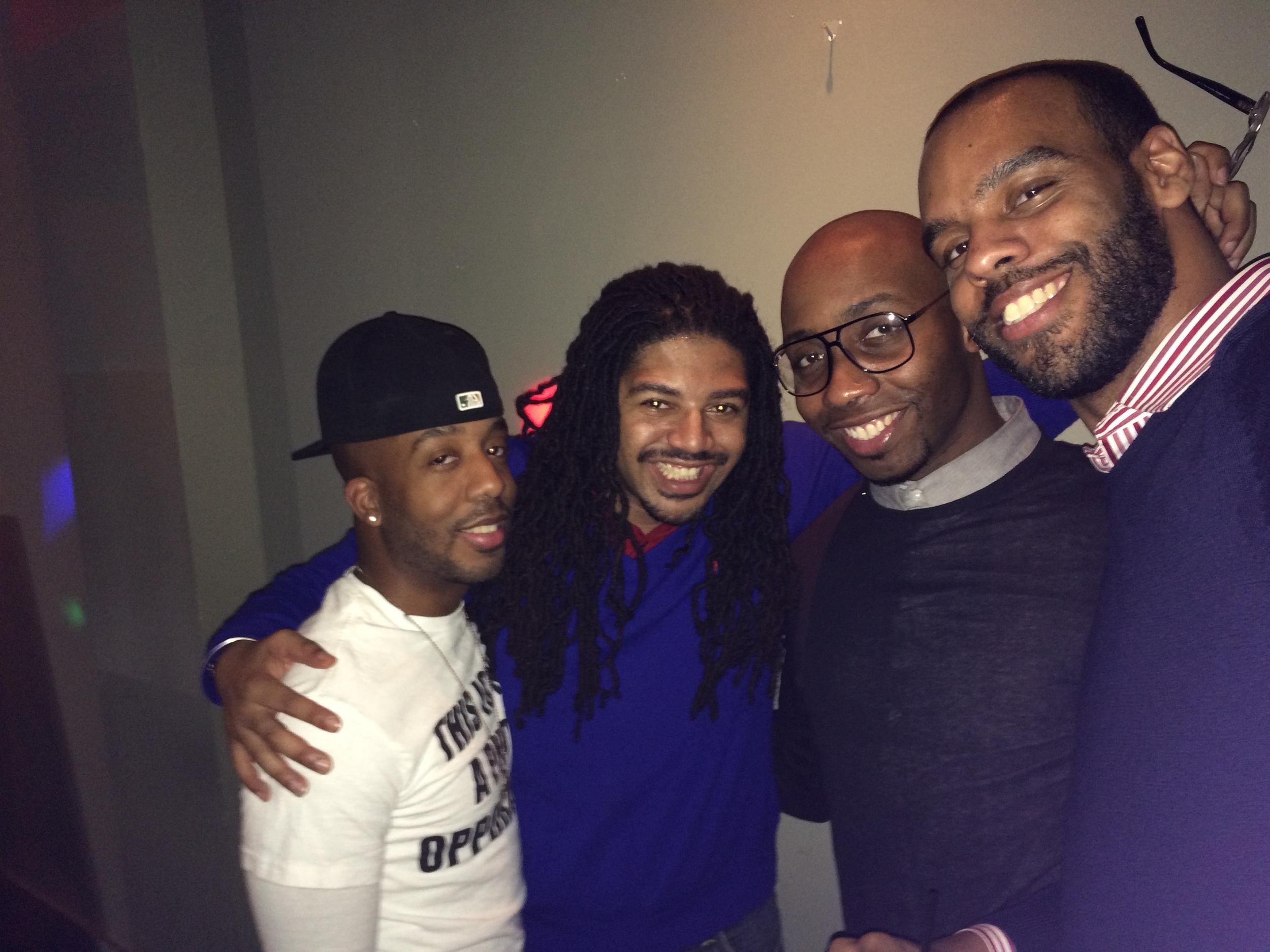 Henry, Blair, Marques & Brandon!
