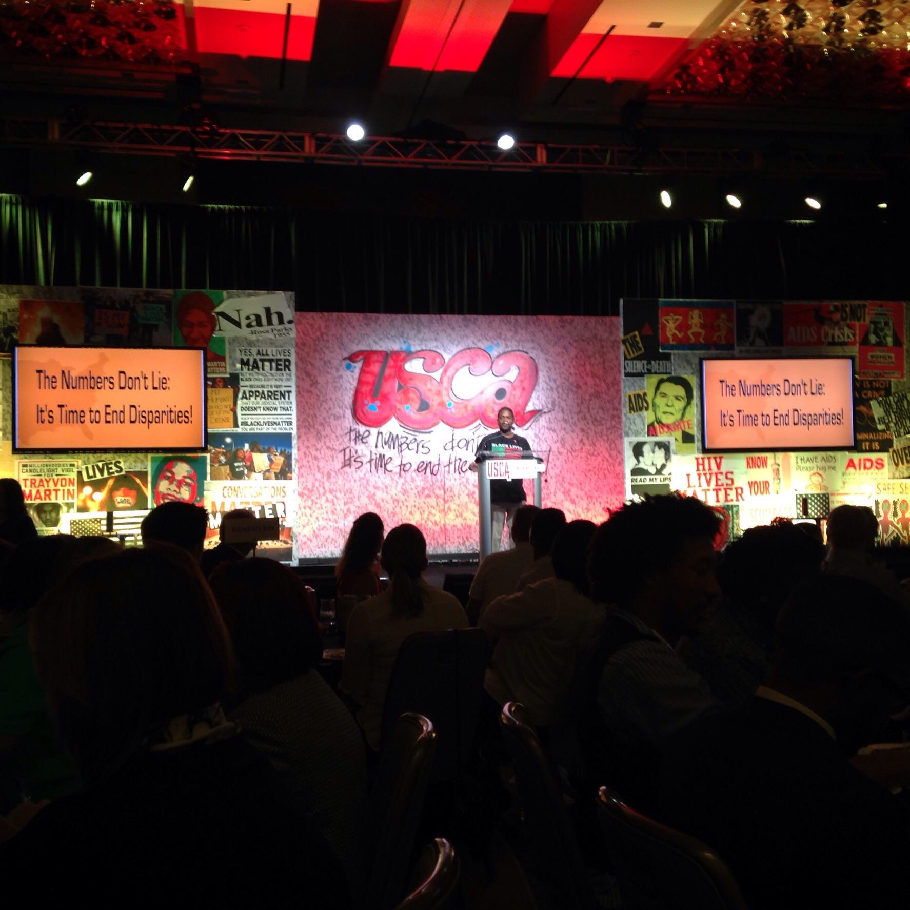 NMAC Director, Terrence Calhoun, welcoming us to USCA 2015!