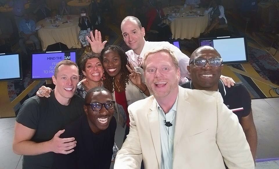 """Our Ellen-inspired """"Selfie"""" with the audience was a perfect end to a productive and inspiring USCA!    Until Next year,  Guy"""