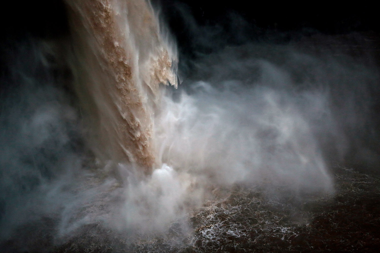 Palouse Falls State Park Waterfall Nature Landscape