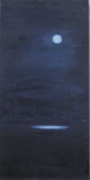 Moon over Peconic Bay - 15x18, oil on canvas.jpg