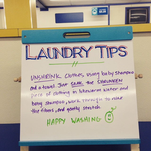 Wednesday Washing Tip @highlandlaundry #hollywoodlaundromat #neighborhoodlaundromat #wednesdaywashingtip