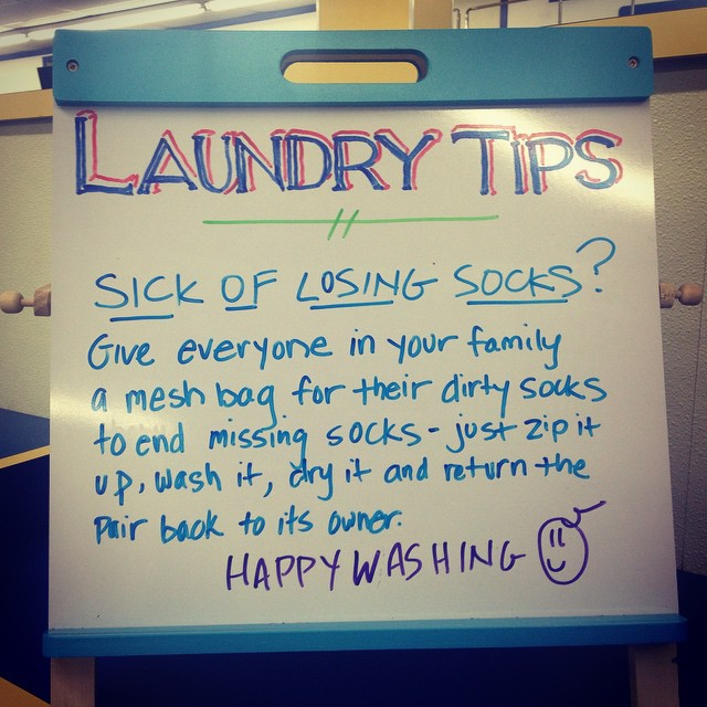 Wednesday Washing Tip (on Thursday) @highlandlaundry #hollywoodlaundromat #laundromats #wednesdaywashingtip #highlandlaundry