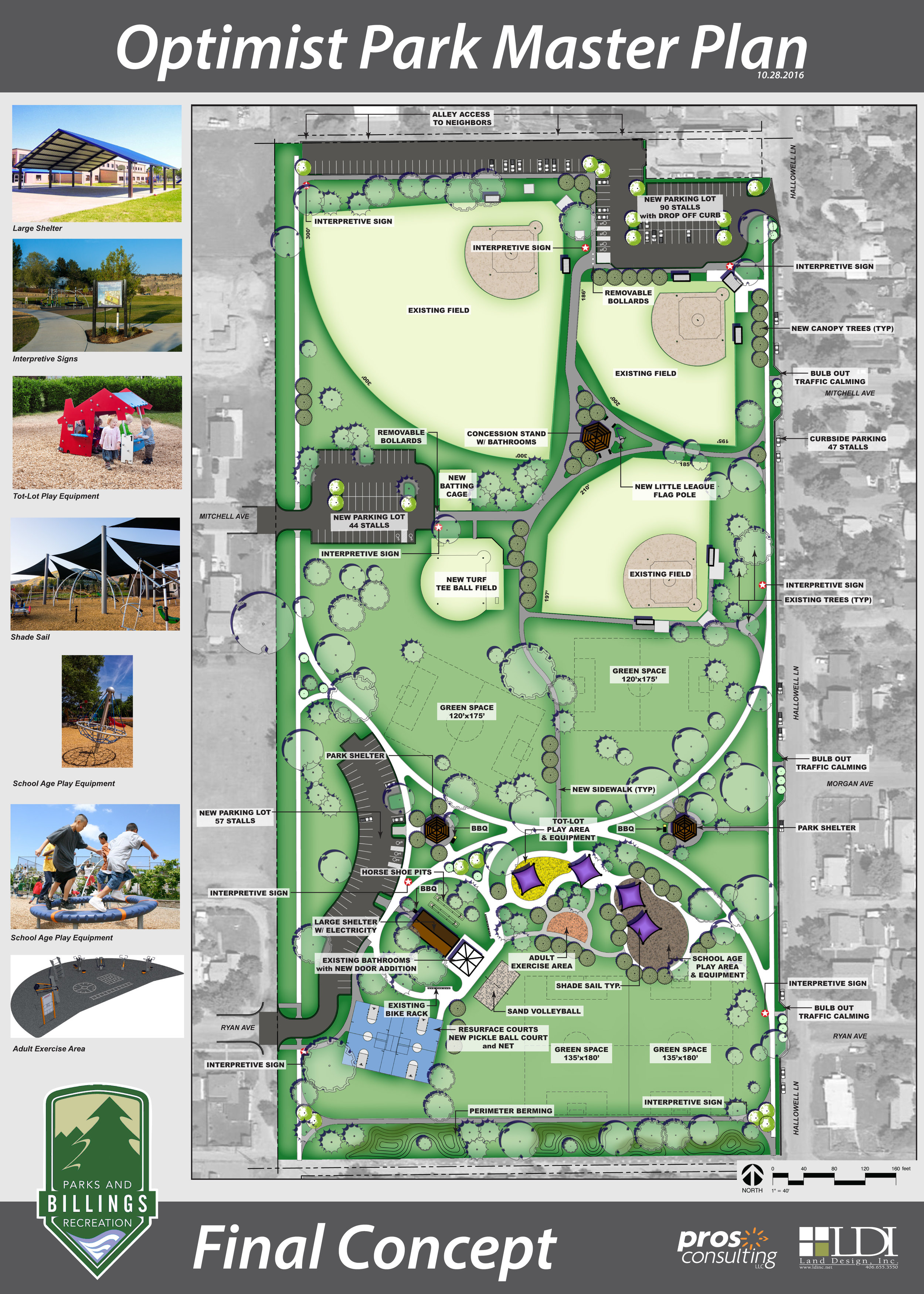 Optimist Park Master Plan