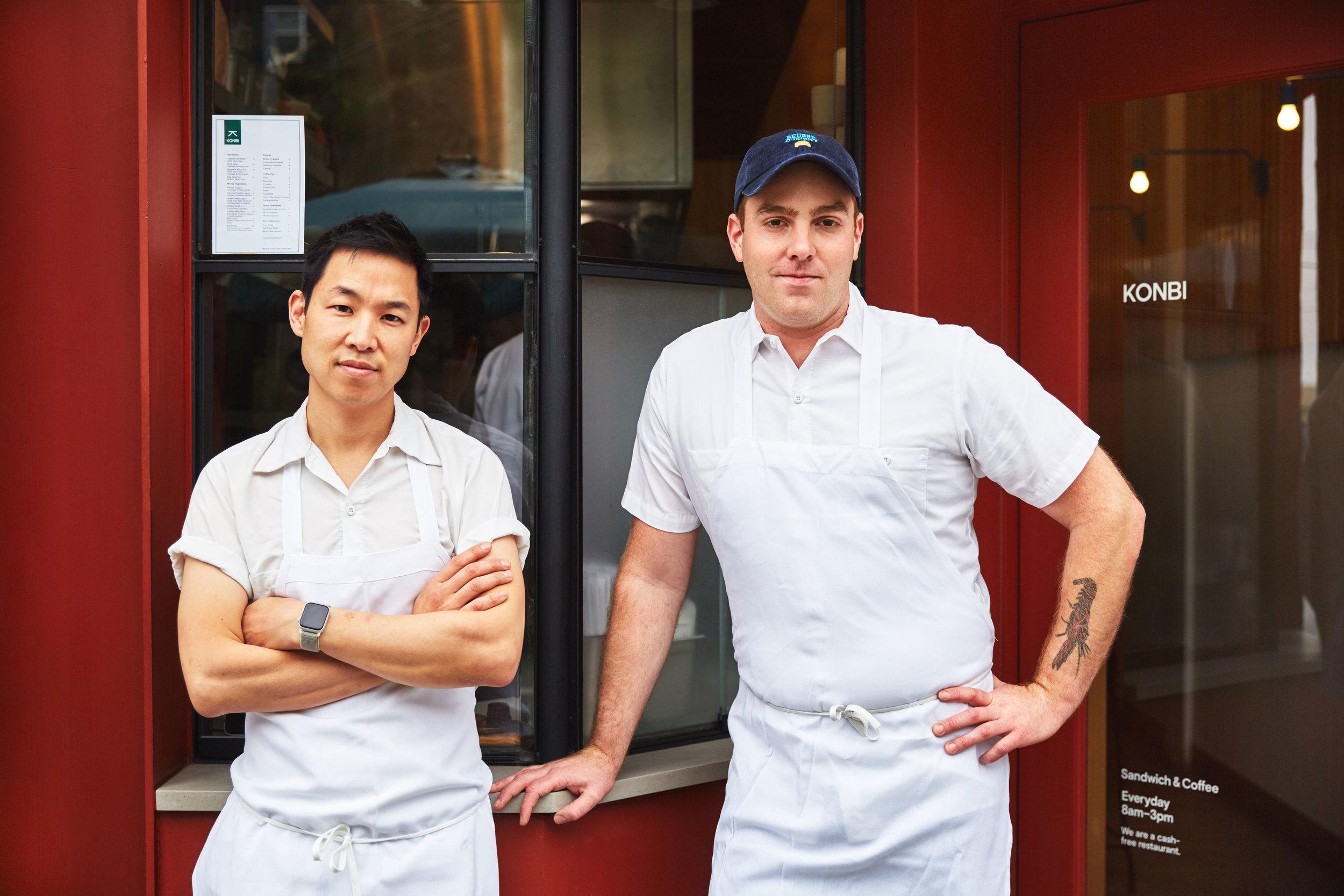 Chef/Owners - Akira Akuto and Nick Montgomery