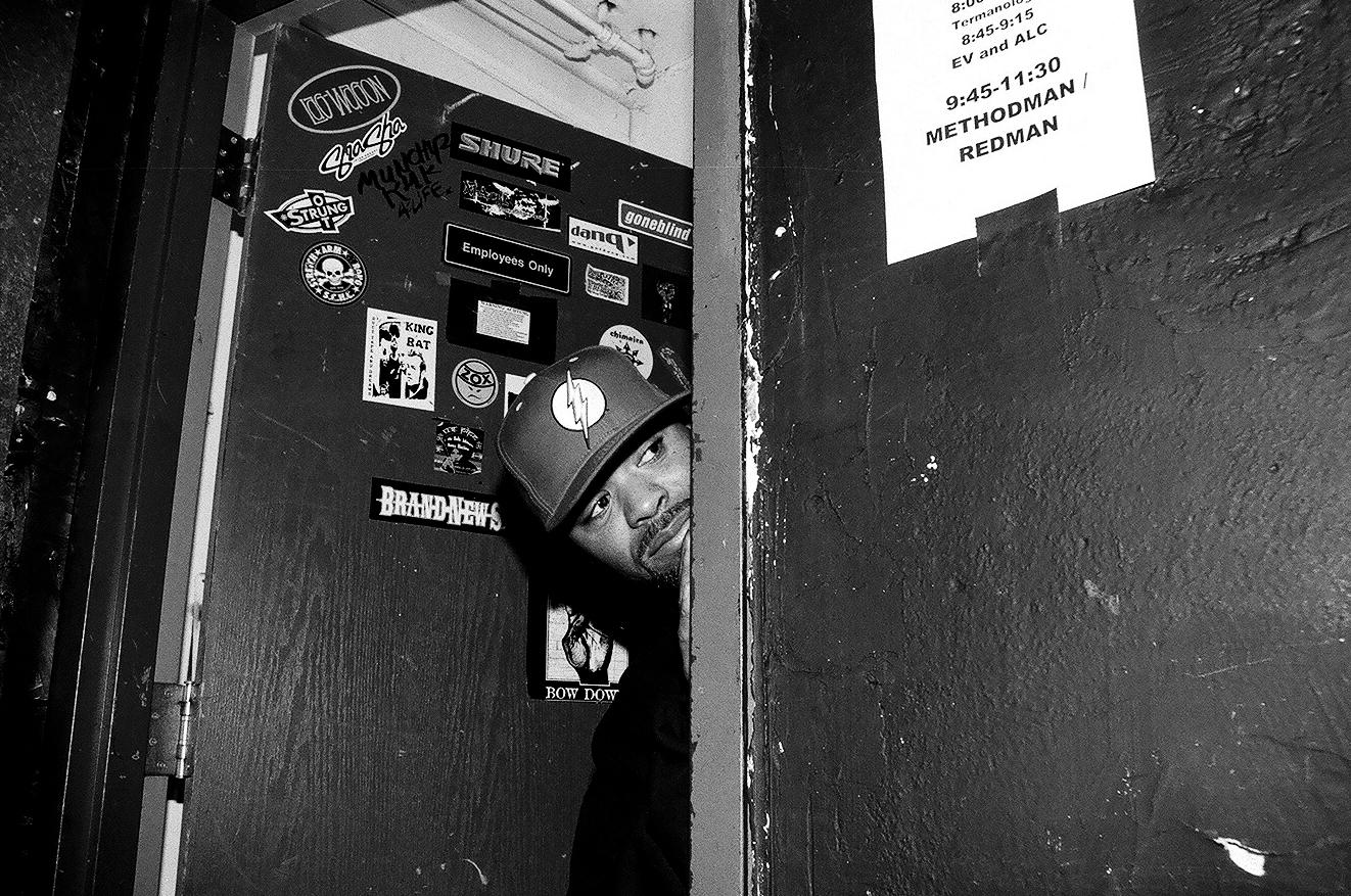 METHOD MAN BACKSTAGE - DENVER, COLORADO - 2009