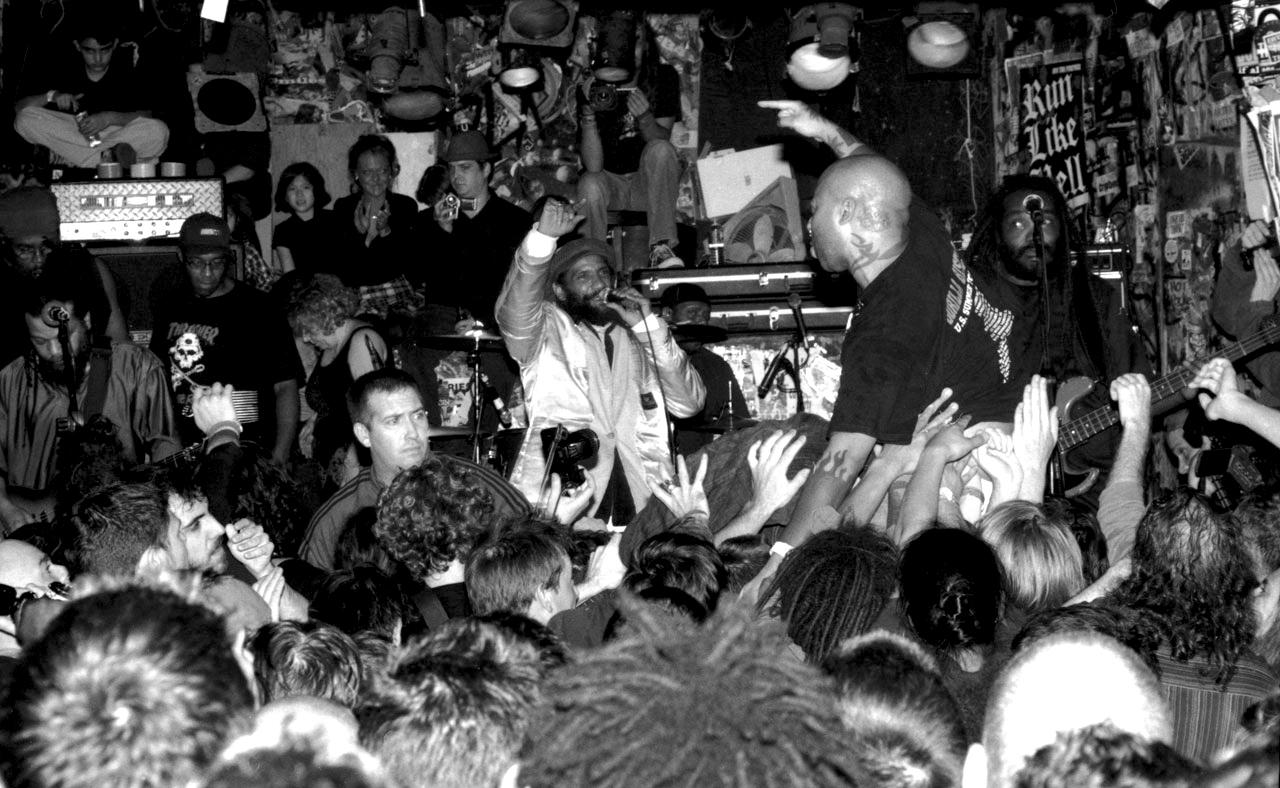 BAD BRAINS - CBGB, NYC - 2007