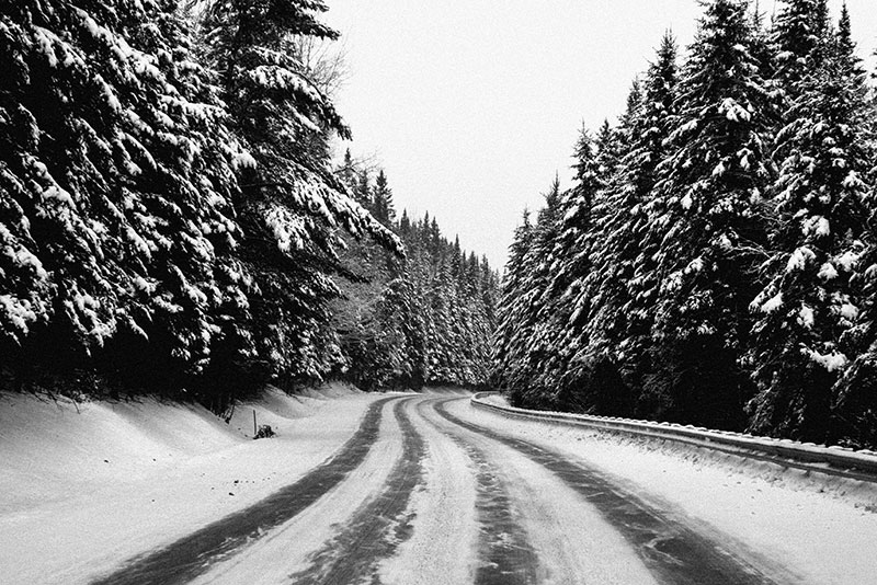 FROZEN ROAD - VERMONT - 2014