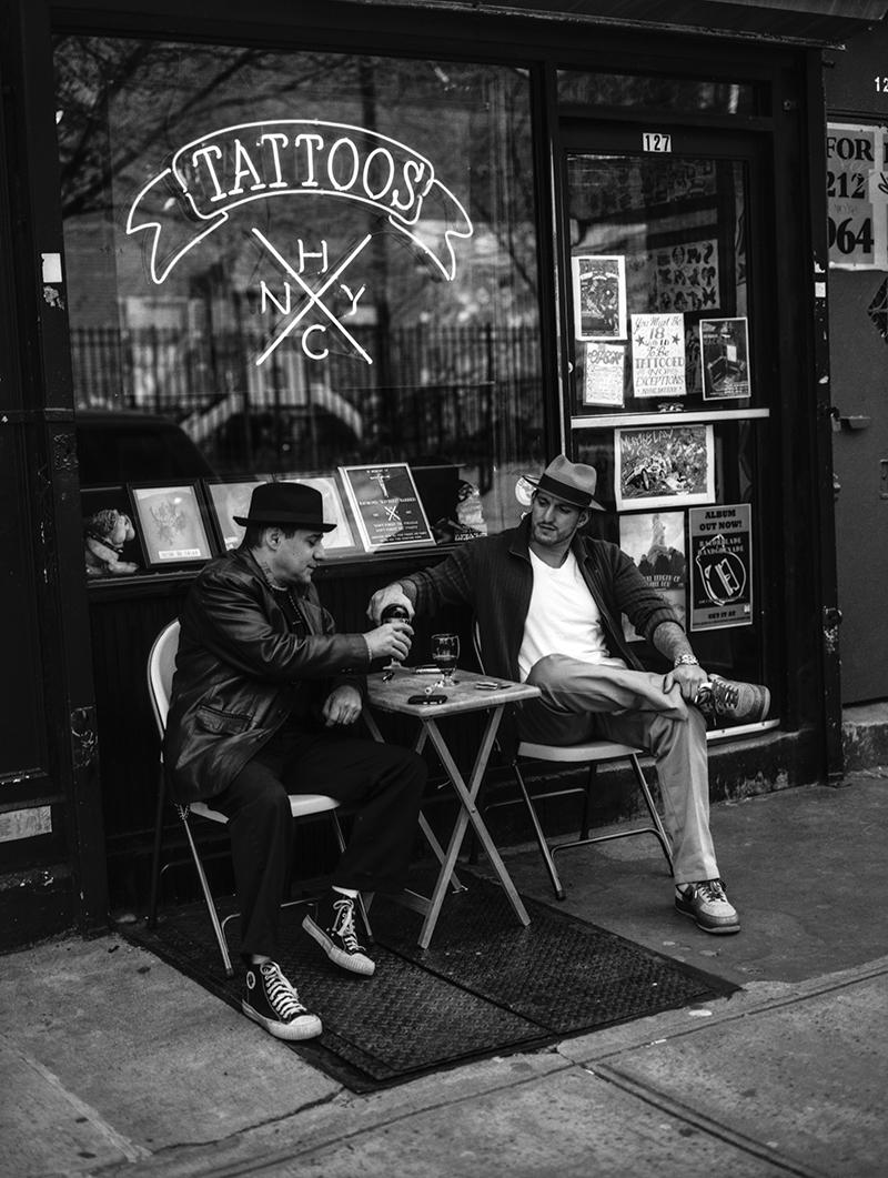 VINNIE STIGMA & FREDDY MADBALL - NYHC TATTOO, NYC - 2008