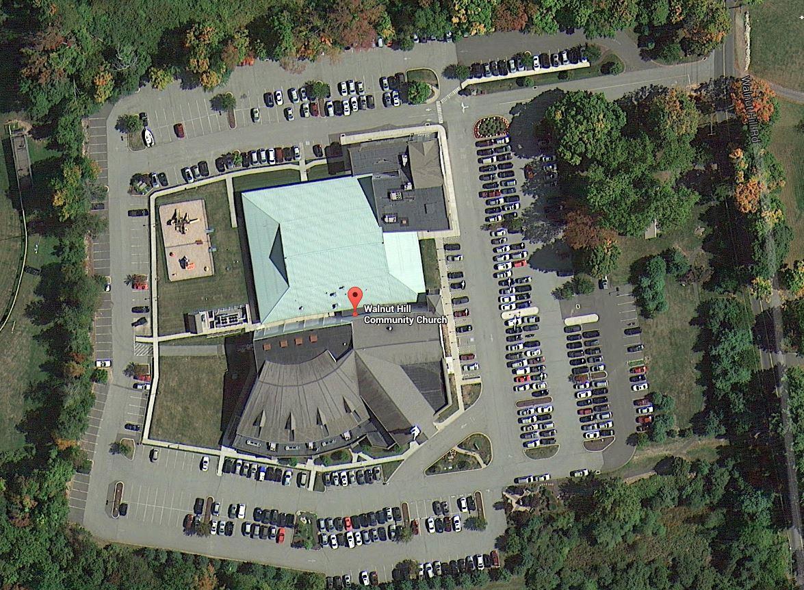 walnut hill community church, bethel, ct / 9 acre site