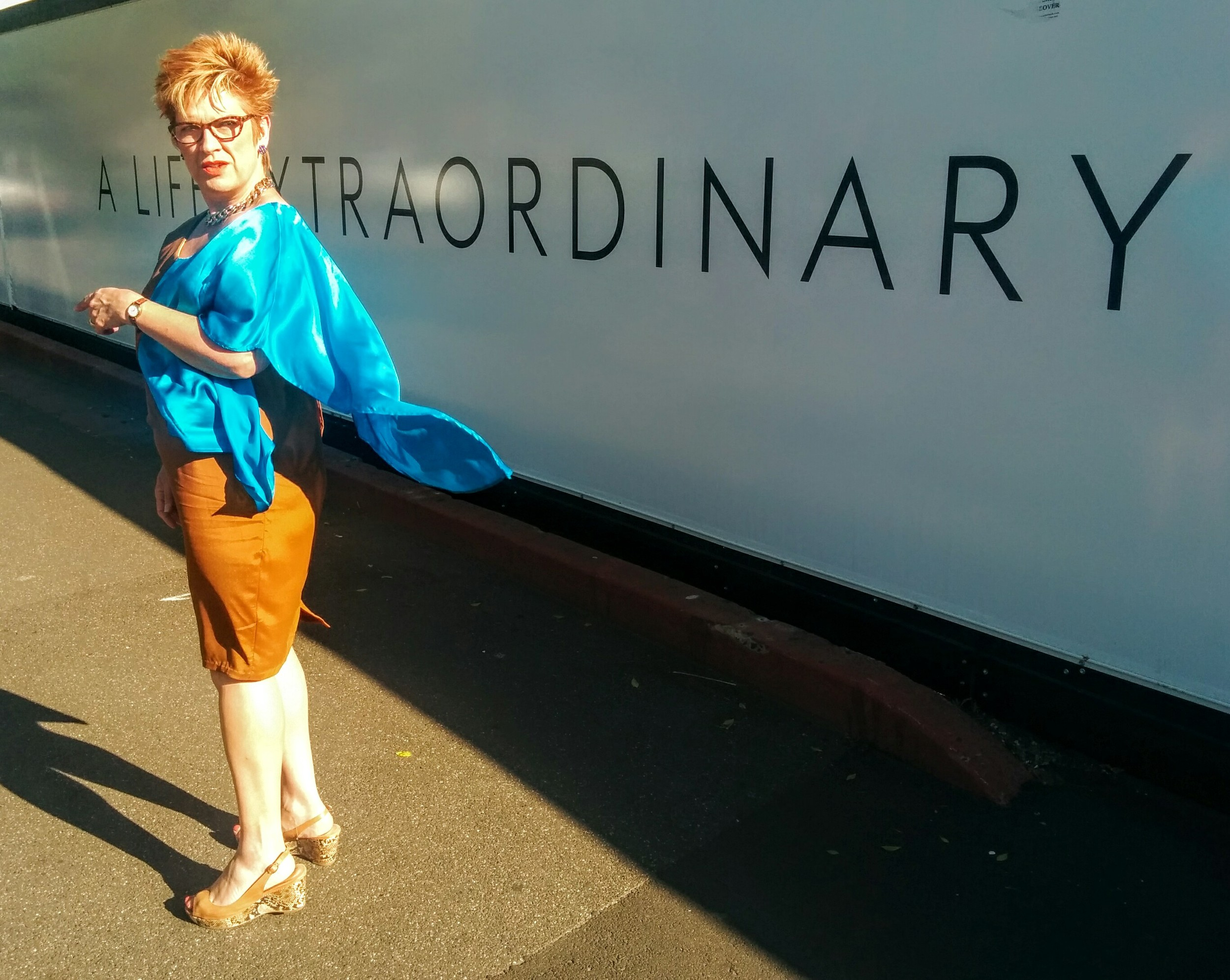 I may not be Superman but I do have a blue cape!!