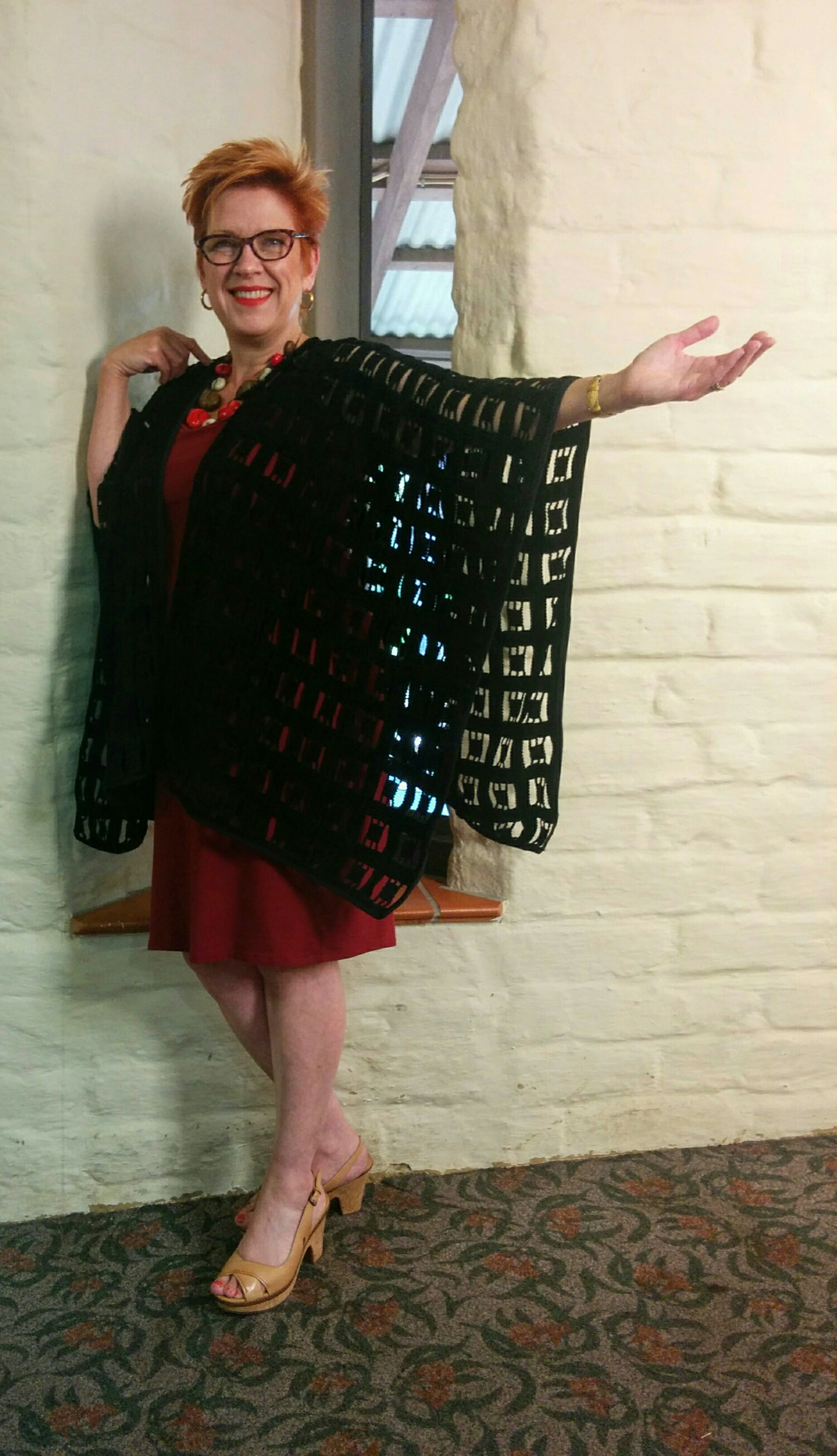 If you would like to make a cape with me on Sunday July 3rd 12pm - 4pm in-store Astratex Fabrics ...click the link for booking details