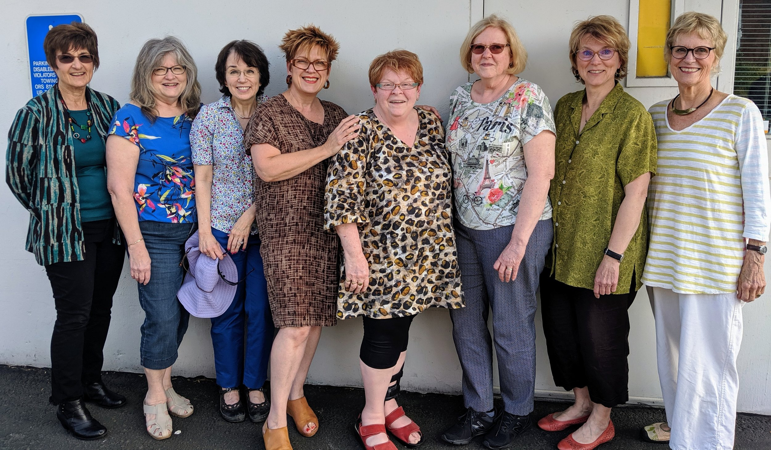 Columbia River Sewing: Such a fun group