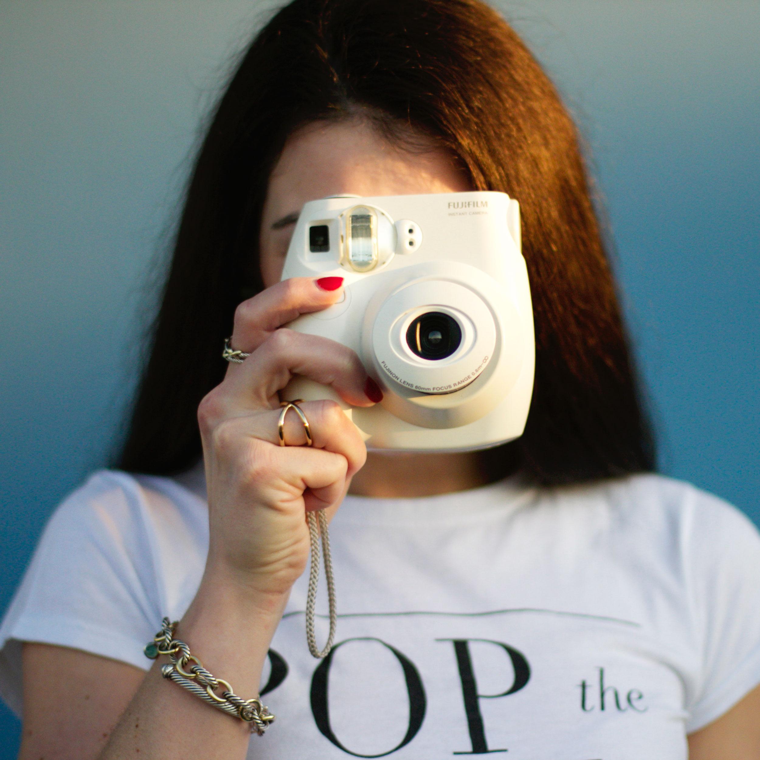 Fujifilm Instax, Polaroid, Instax Mini, Fashion Blogger, Summer Style