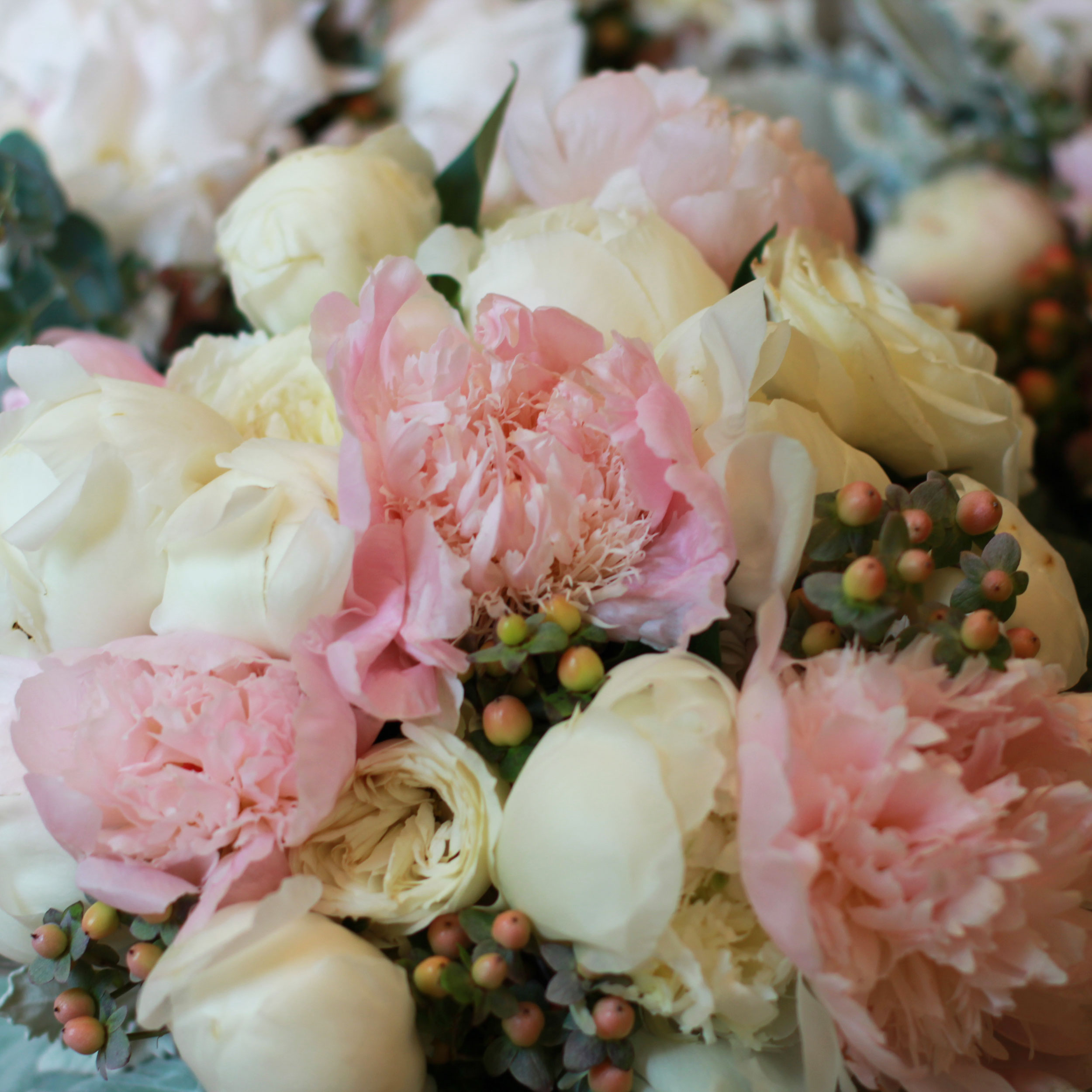 Wedding Flowers, Peonies