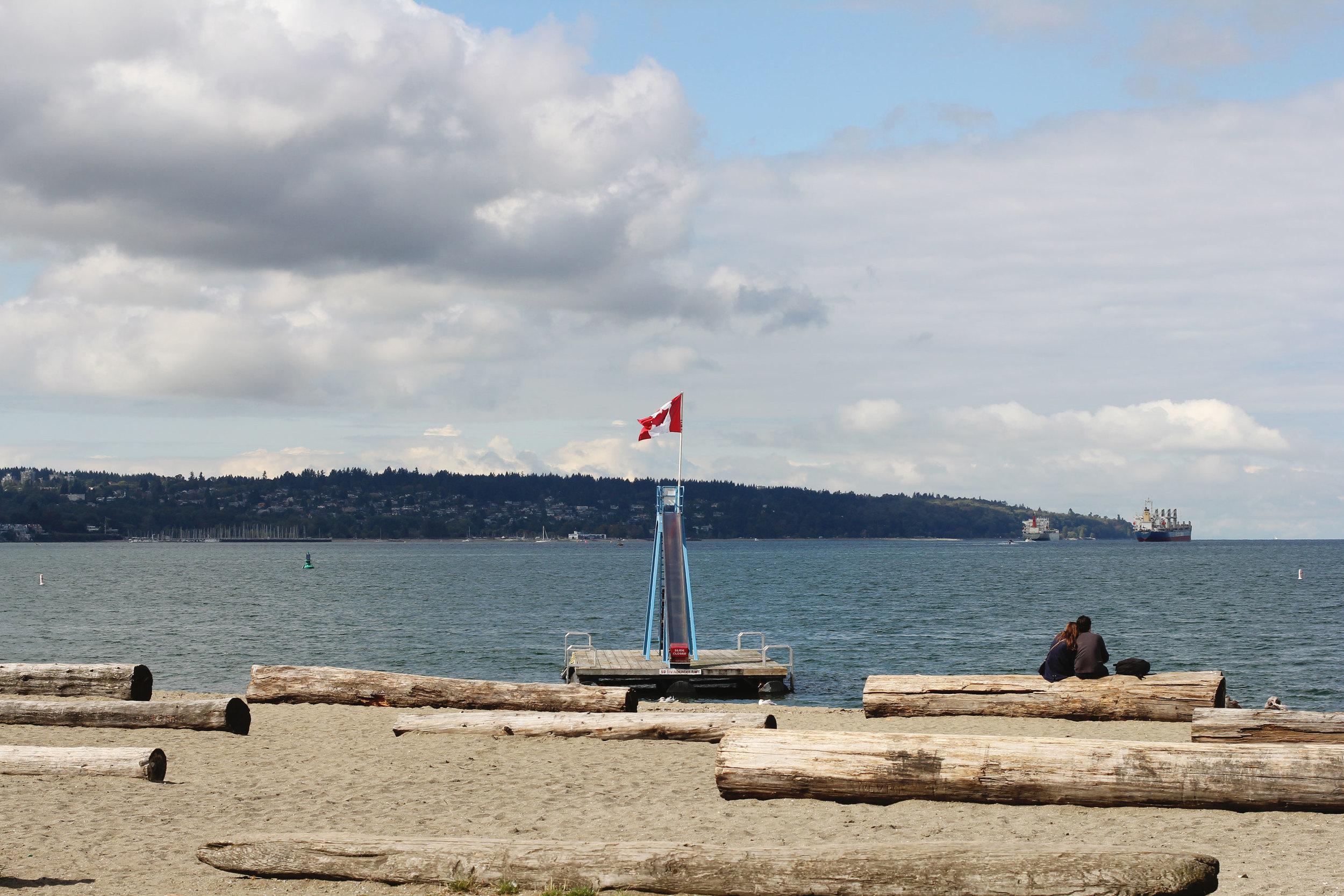 Vancouver Canada, English Bay Beach, Cactus Club Cafe