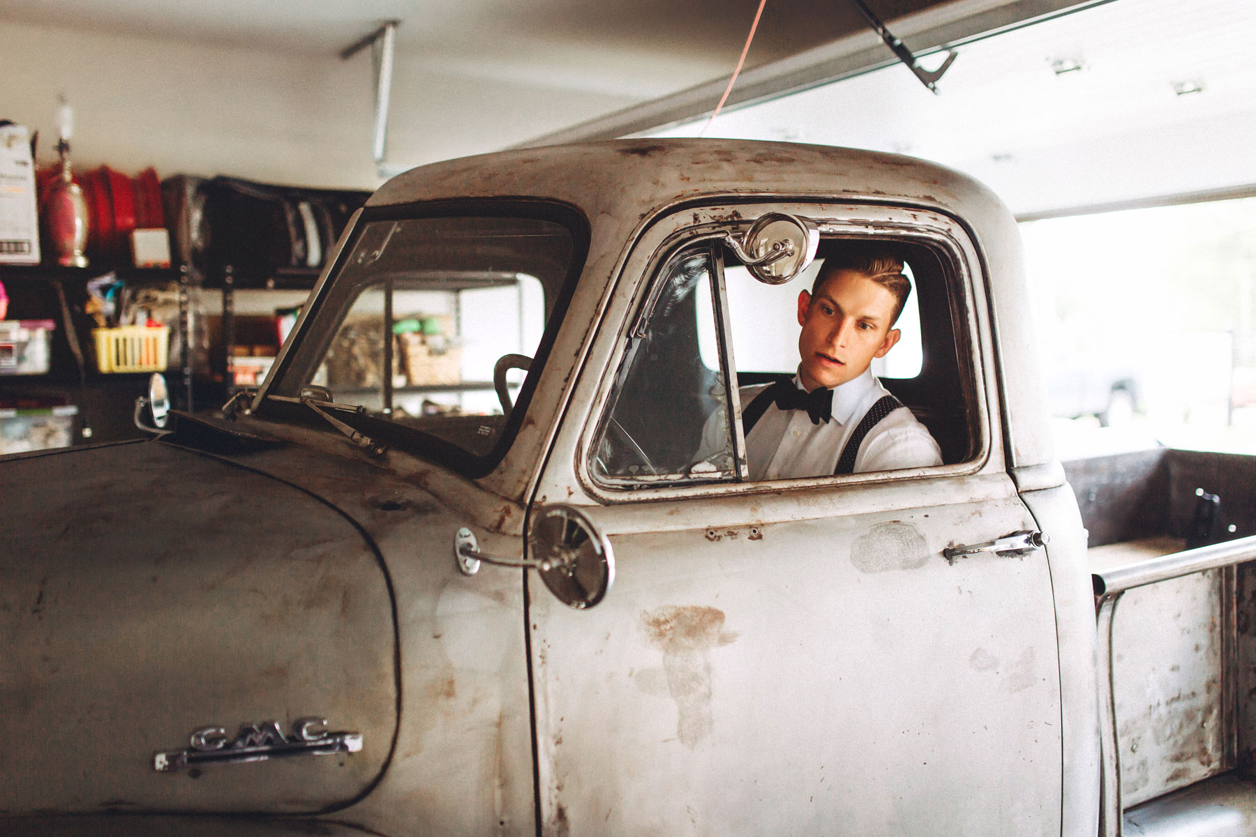 Me & Mr. Jones Wedding, Nashville Wedding, Bourbon Bar, Kentucky Wedding, Groomsmen Getting Ready, Vintage Truck