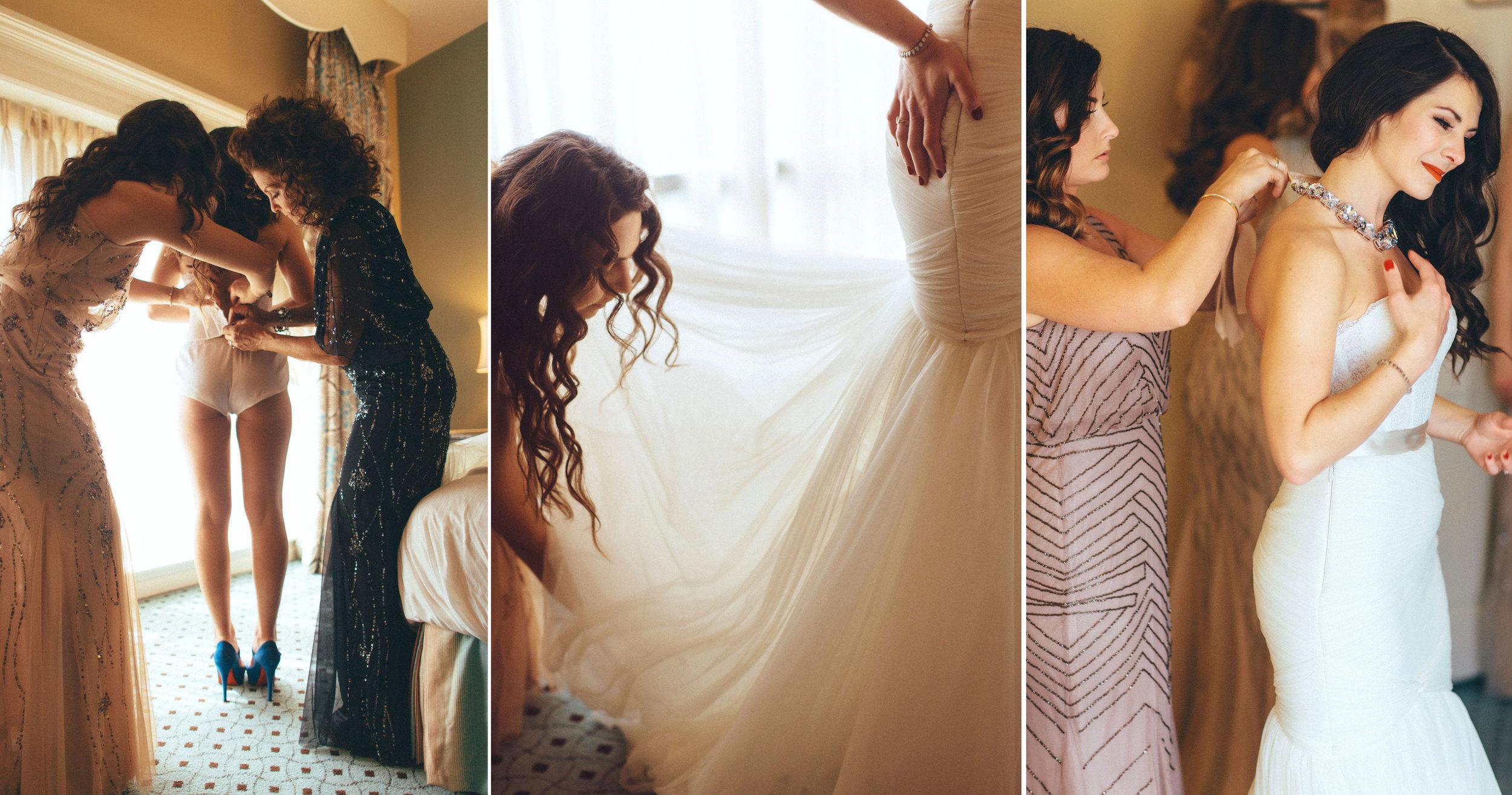 Me & Mr. Jones Wedding, Bride Getting Ready, Free People Lace Bralette, Watters Carina Corset, Black Tie Wedding, Nashville Wedding