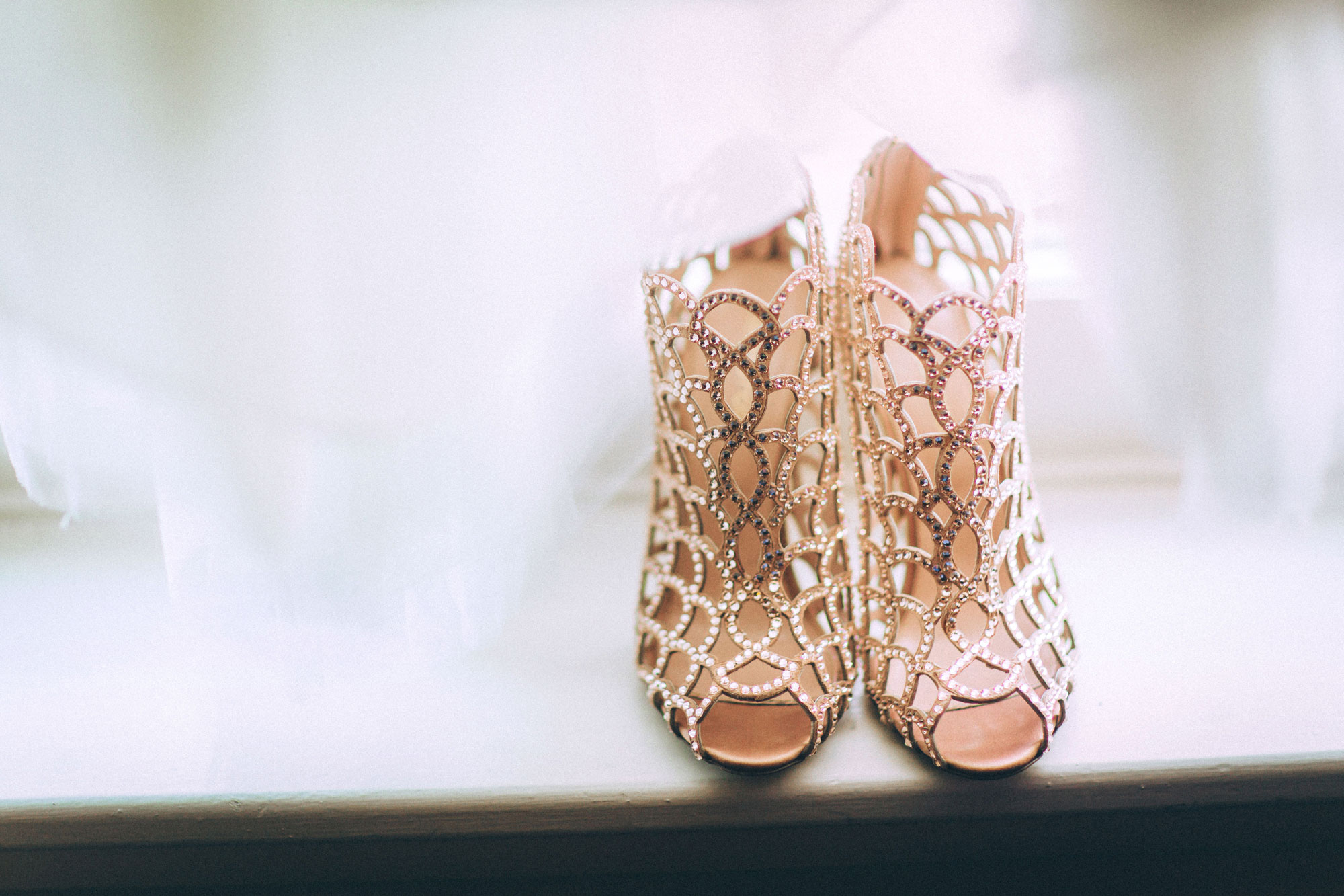 Sergio Rossi Mermaid Swarovski Crystal Booties, Black Tie Wedding, Nashville Wedding, Southern Wedding, Glam Wedding