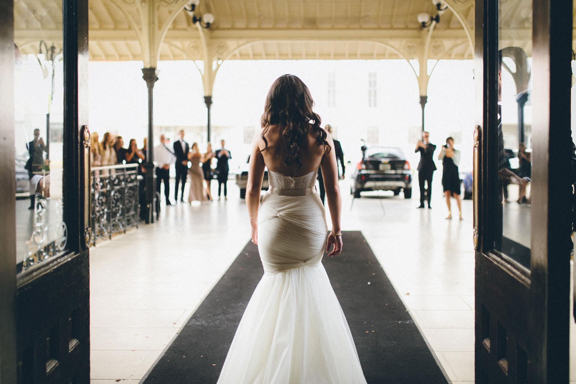 Me & Mr. Jones Wedding, First Look at Union Station Hotel, Bridal Portrait, Nashville Wedding