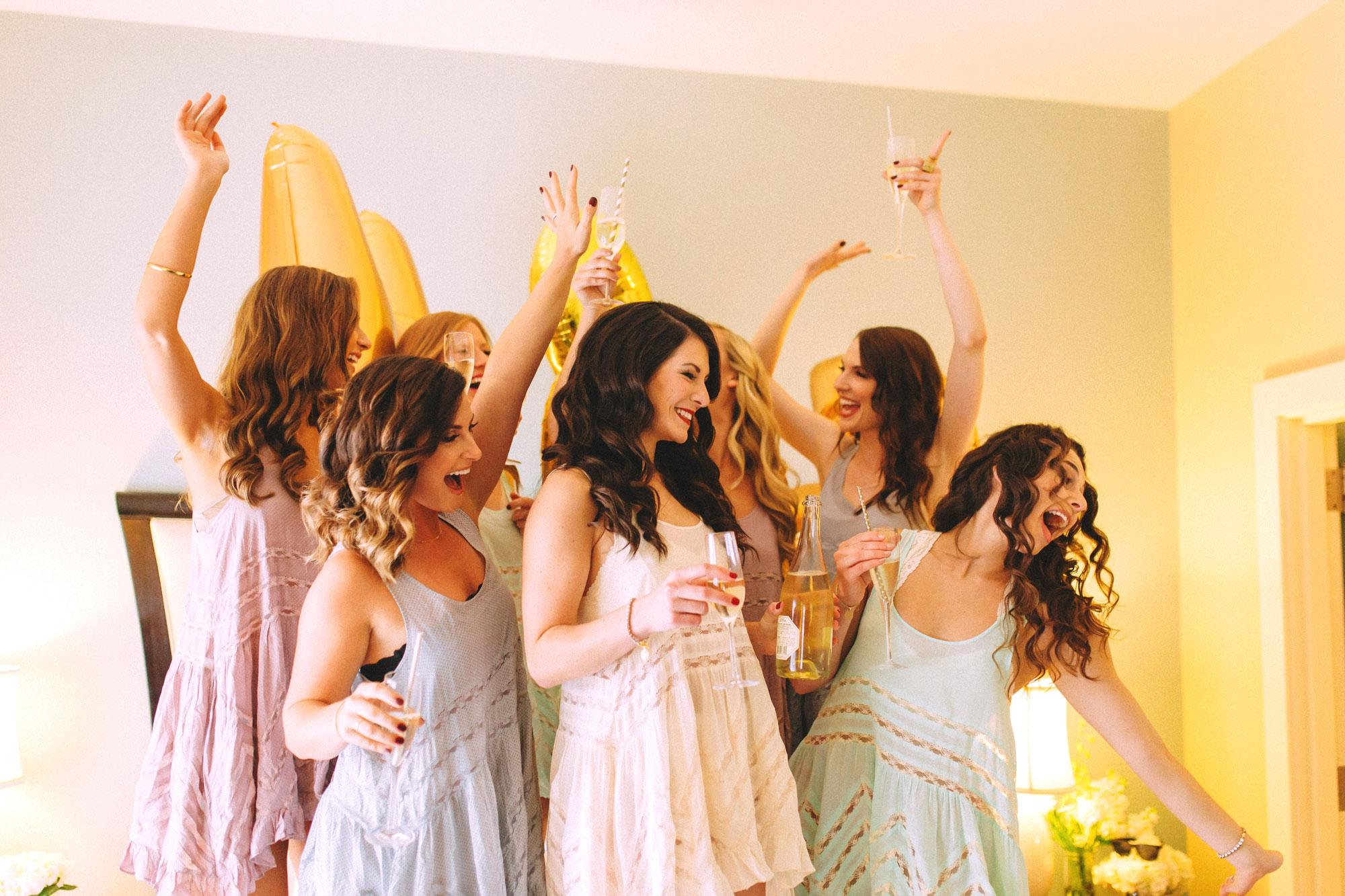 Me & Mr. Jones Wedding, Bridemaids Outfits, Free People Voile Trapeze Slip, Nashville Wedding, Union Station Hotel, Black Tie Wedding