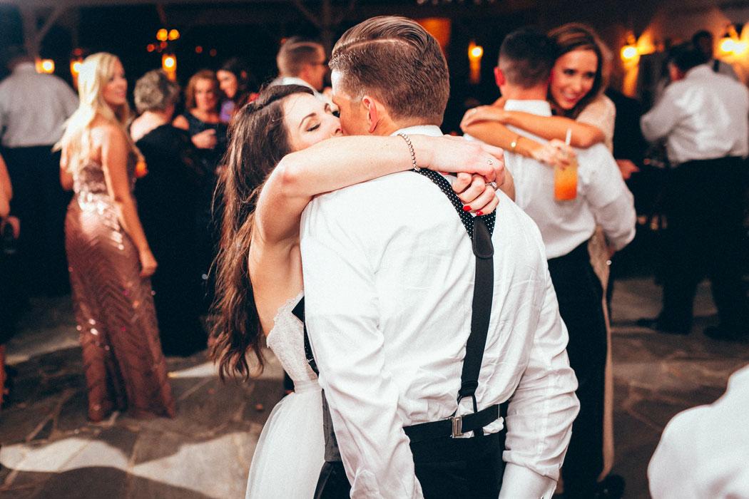 Me & Mr. Jones Wedding, Reception at Cedarwood in Nashville, Gold Wedding, Bride and Groom Dancing