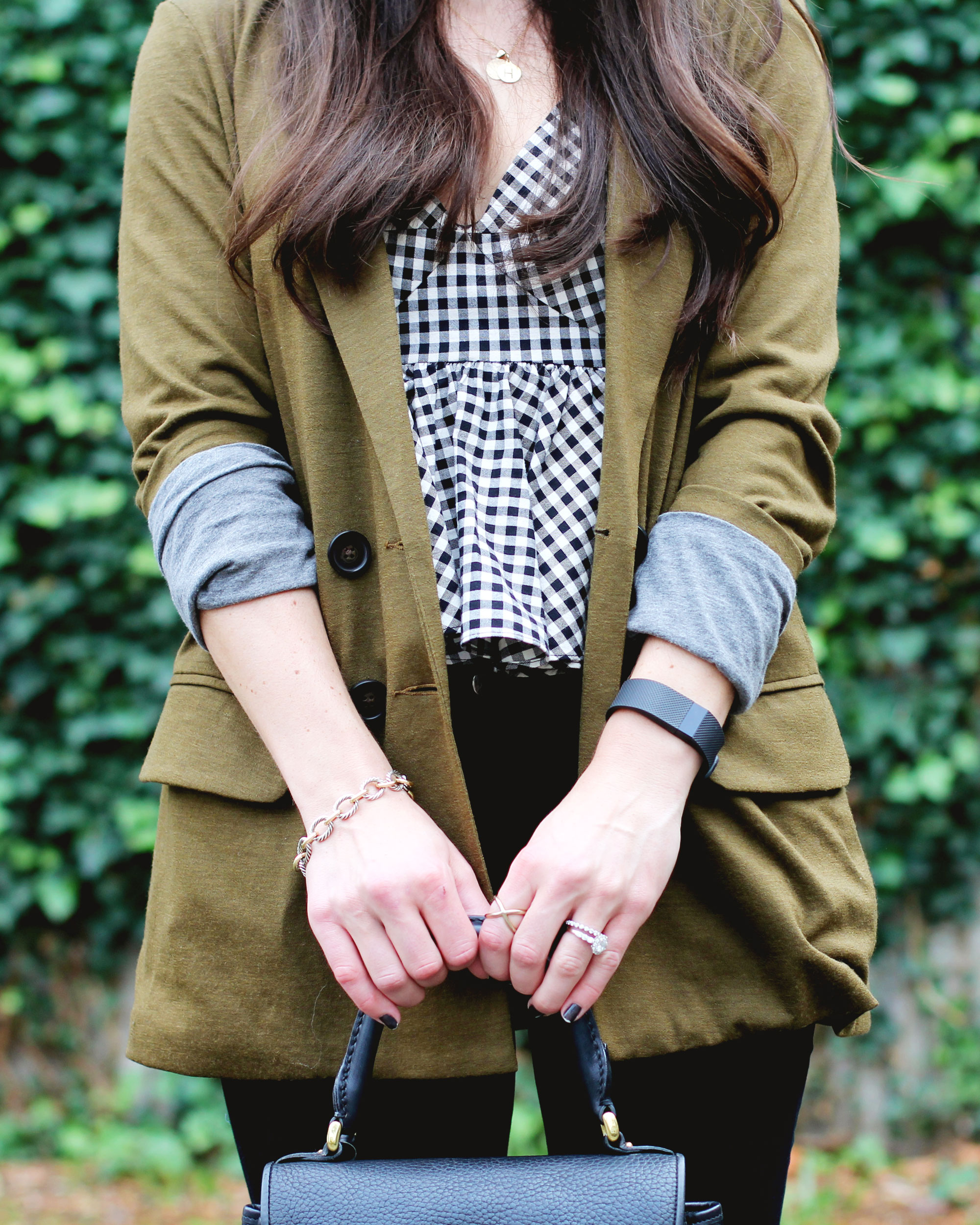 Fall Fashion, Dolce Vita Over The Knee Boots, Black Wool Fedora, J.Crew Jersey Blazer, and Zara Peplum Top