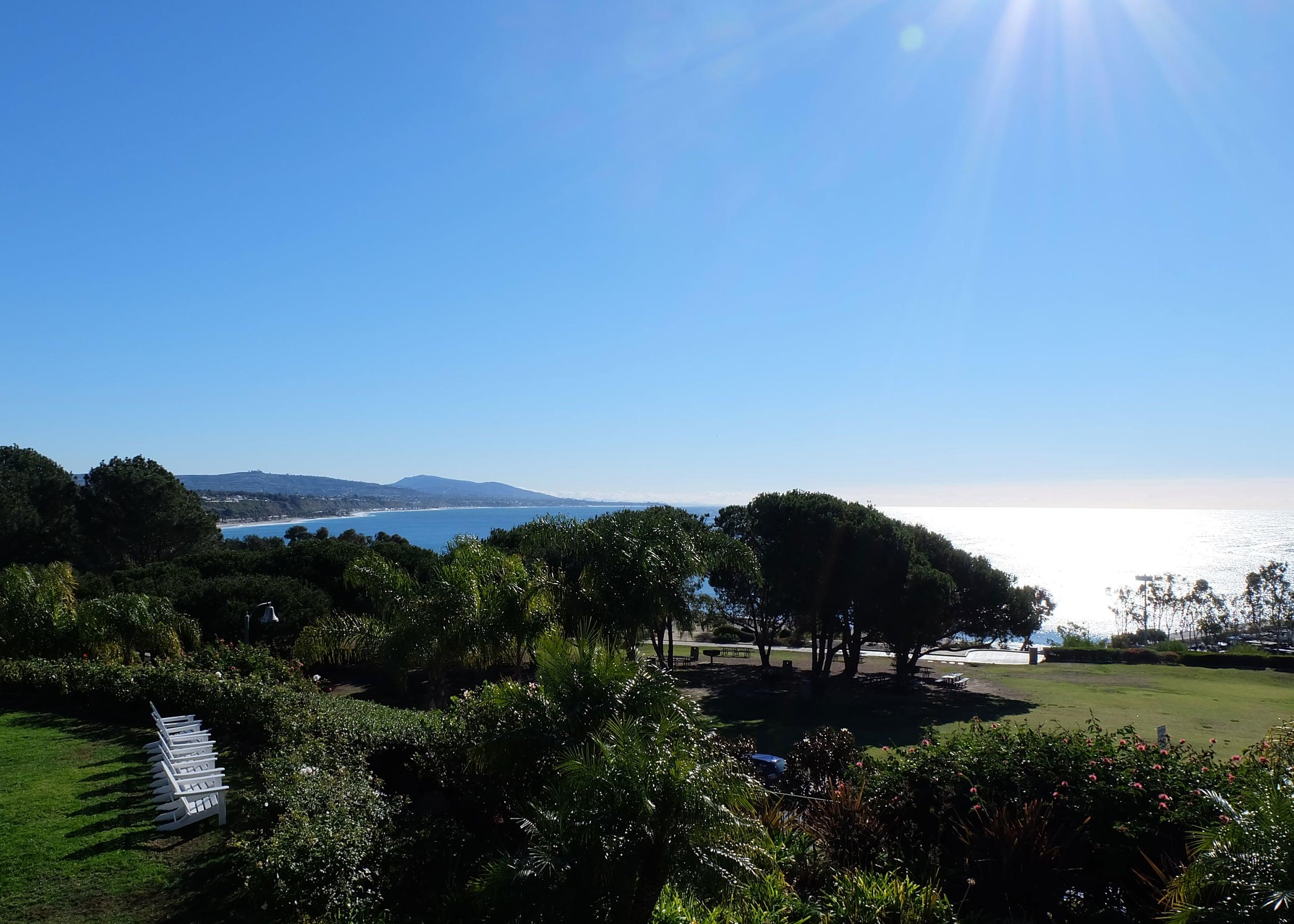 View from Laguna Cliffs Marriott Overlooking Latern Bay Park