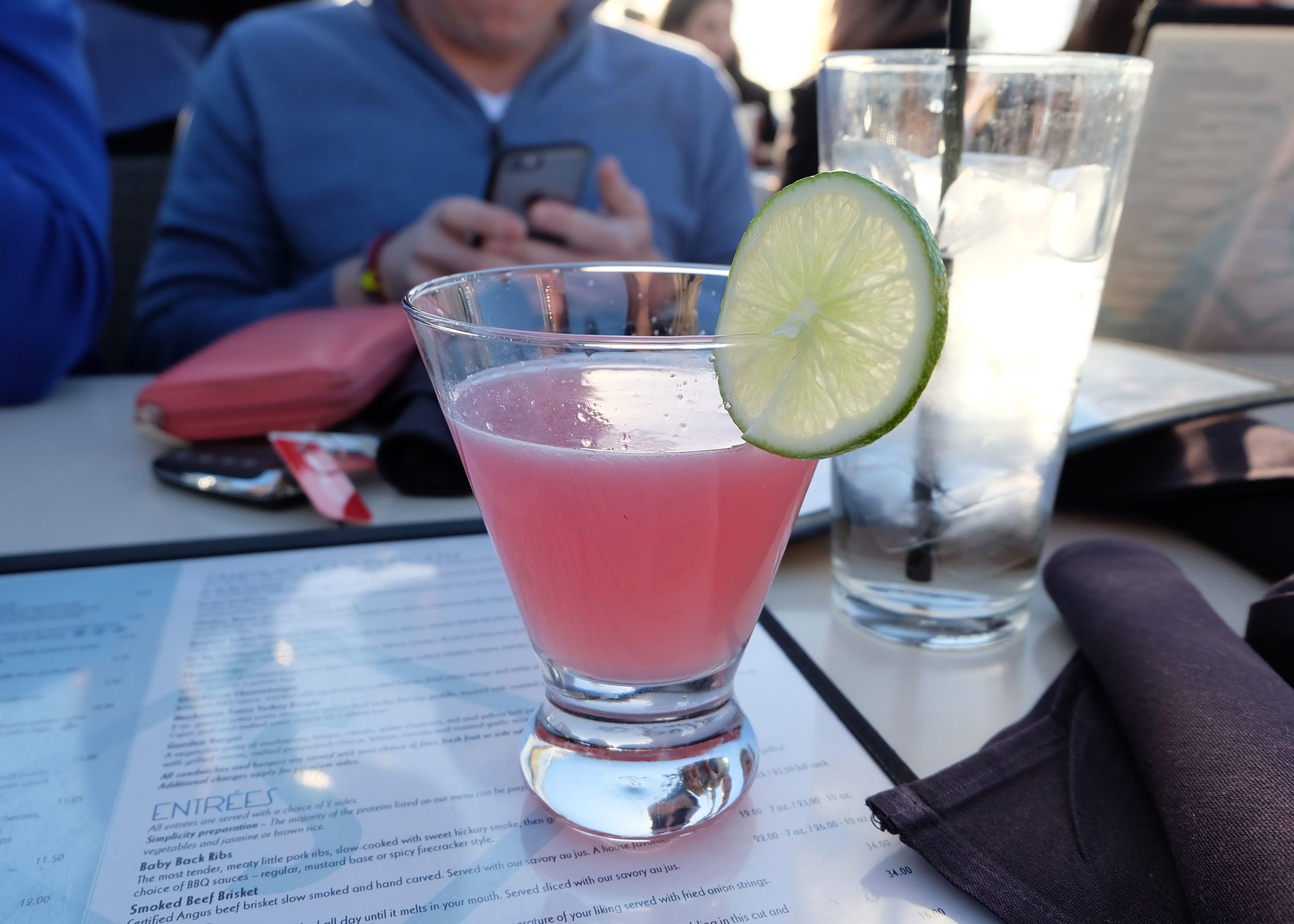 Cocktails at Skyloft in Laguna Beach
