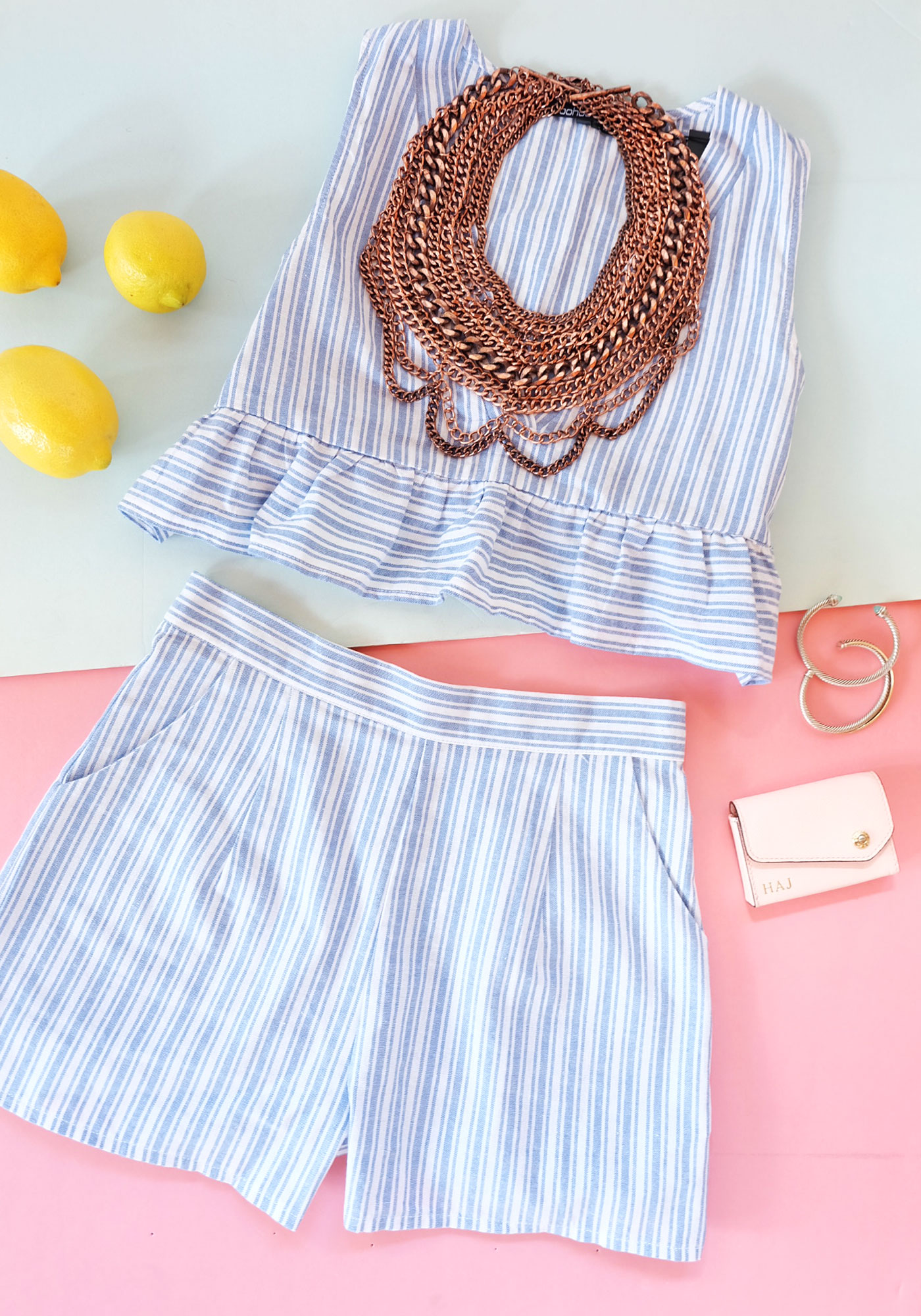 Cute and easy summer outfits, Co-ord two piece sets, summer trends 2016.
