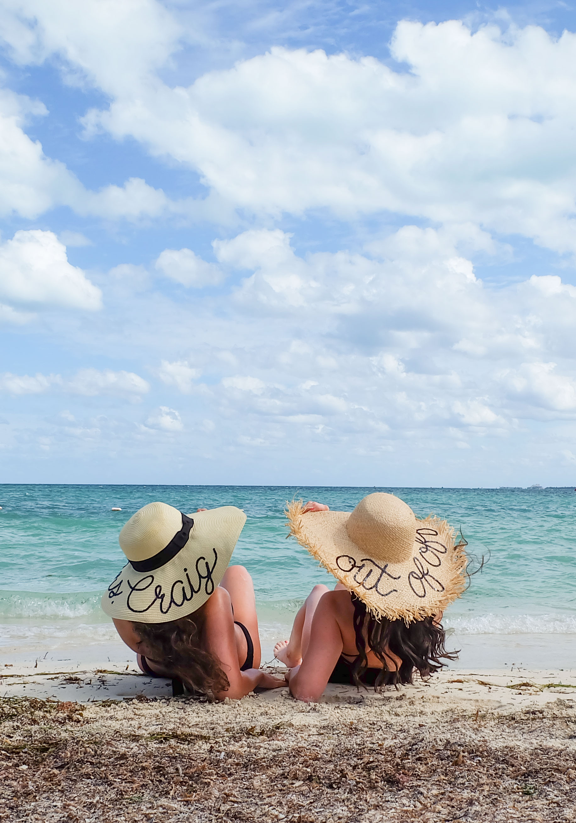 """DIY Eugenia Kim Conversation Hats, Affordable Versions of Eugenia Kim's """"Wish You Were Here"""" Hats all under $70!"""