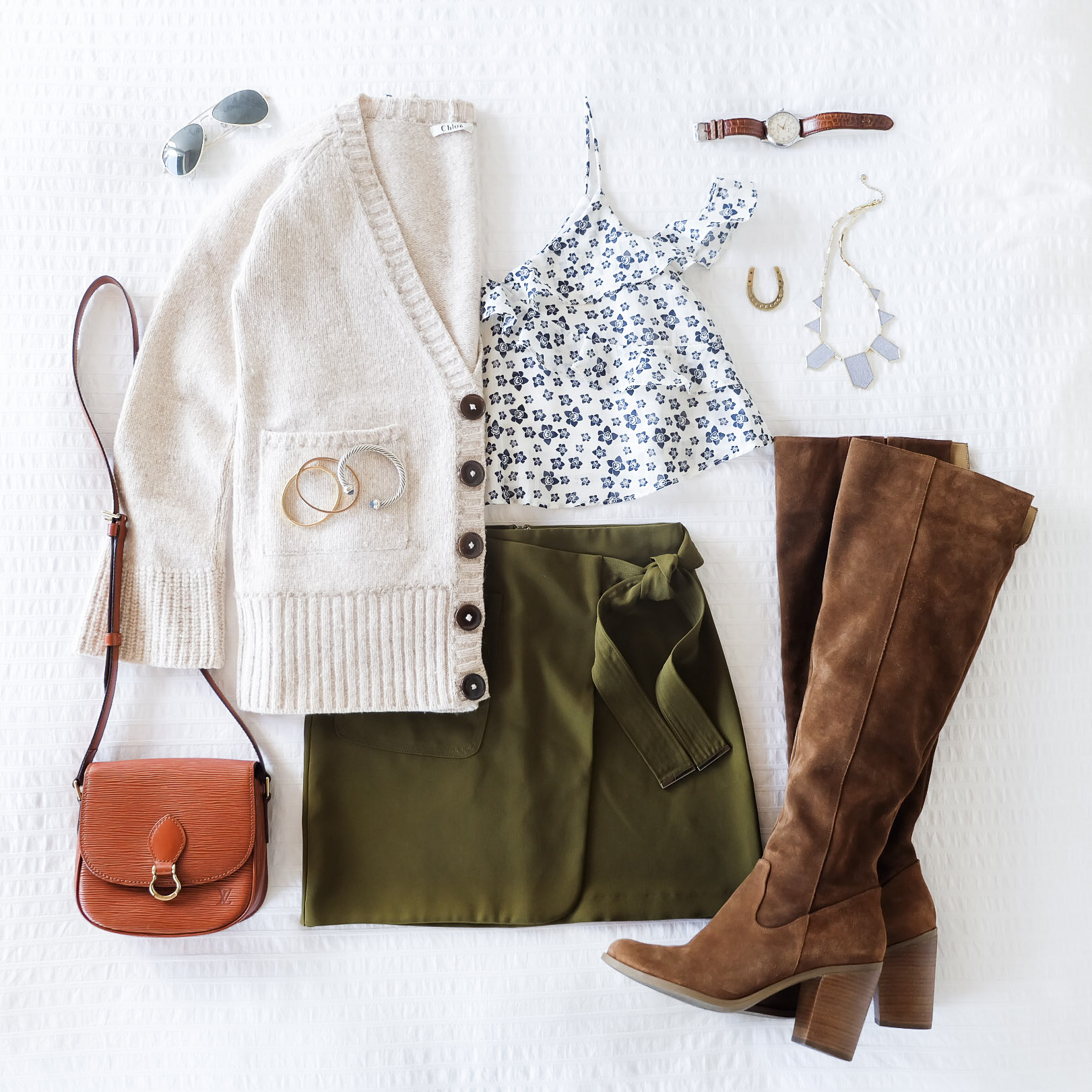 Cute fall outfit,
