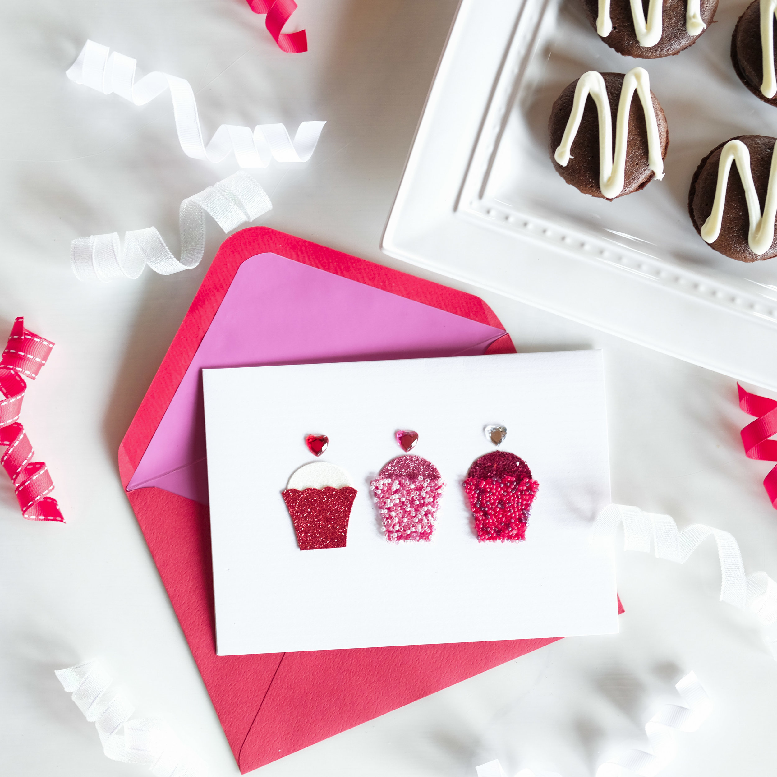 Easy to make Valentine's Day treat, simple and delicious Brownie Macaroon recipe.  Easy gifts for Valentine's Day or Galentine's Day.
