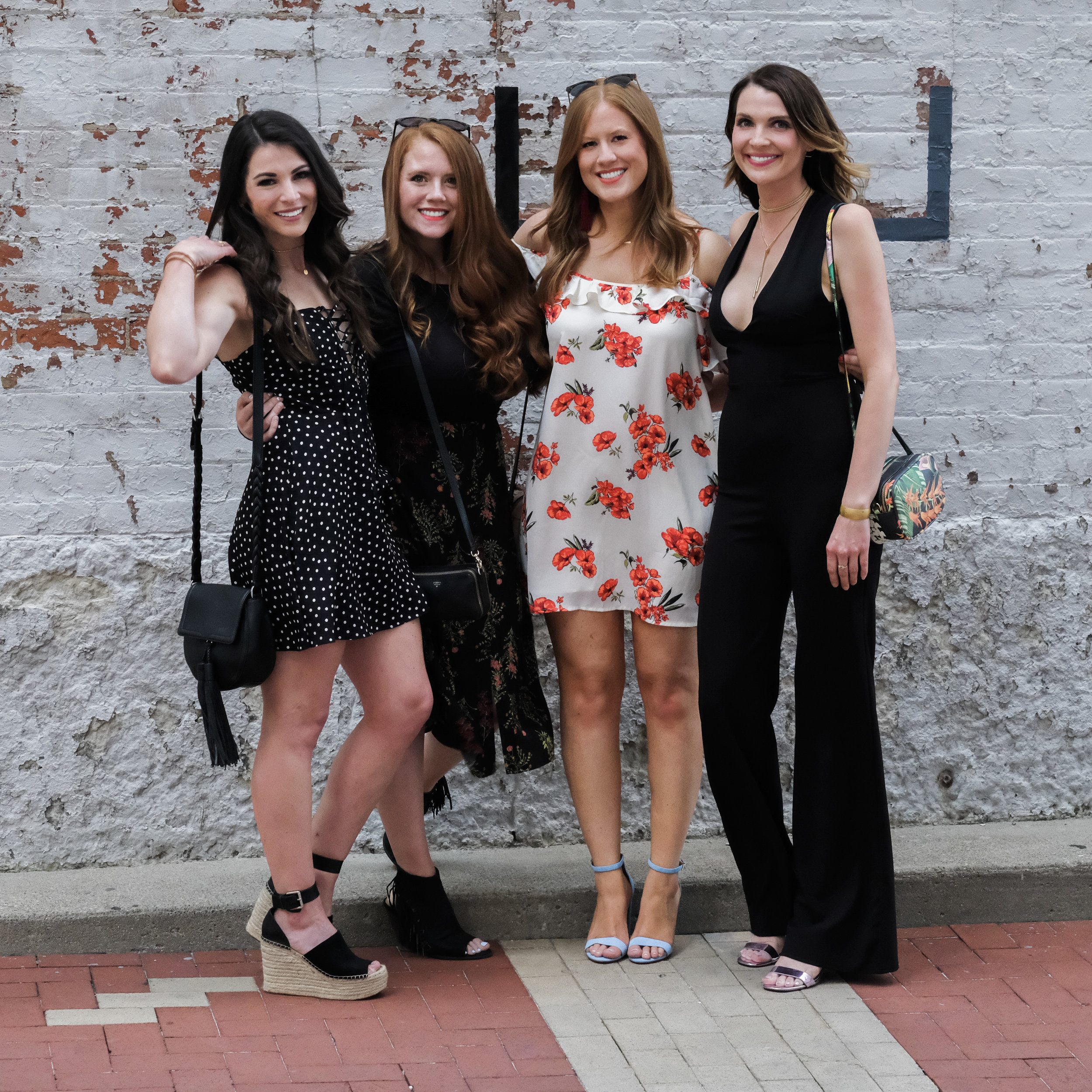 Bachelorette party outfit ideas, Summer bachelorette party in Cincinnati Ohio.