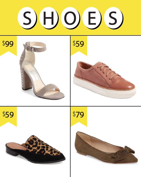 NORDSTROM ANNIVERSARY SALE 2017, WOMEN'S SHOES