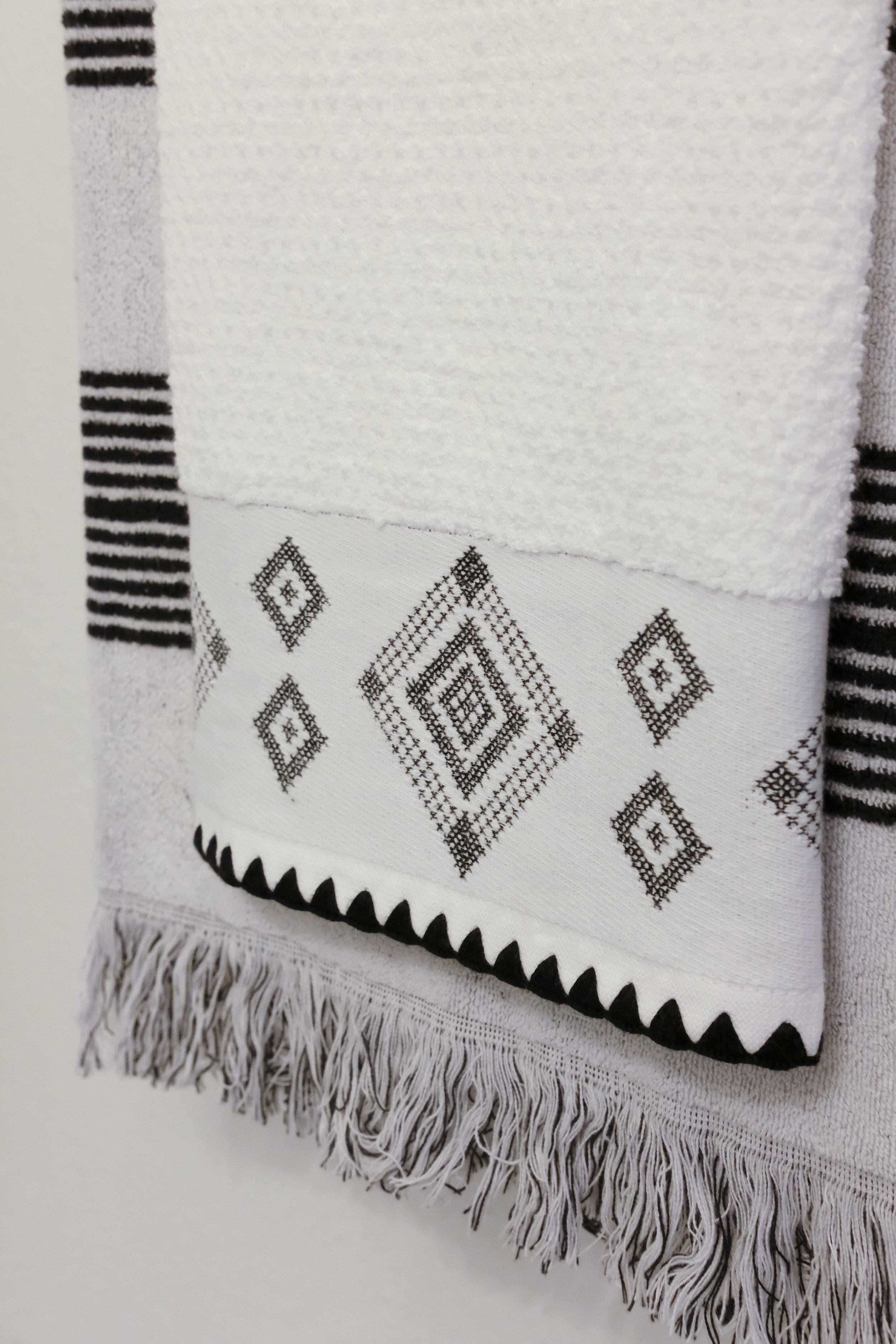 DIY painted moroccan tile_black white moroccan tile_cutting edge stencil augusta_black and white bathroom_03.jpg