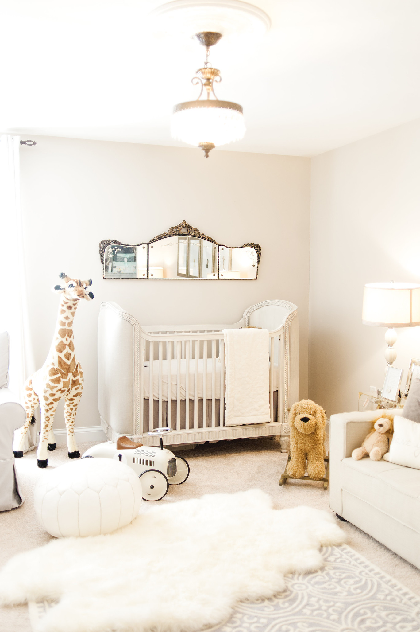 Neutral nursery inspiration.