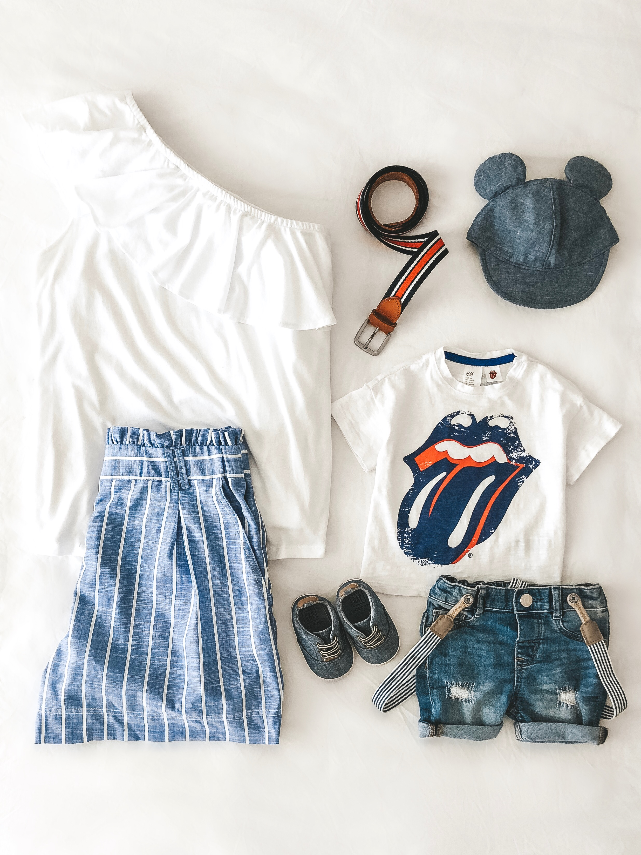 Fourth of July outfits for mommy and baby.  Mommy and me outfits.  Newborn boy style.