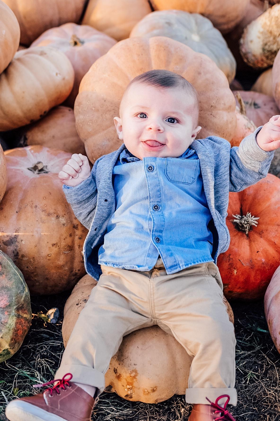 Baby boy fall fashion.