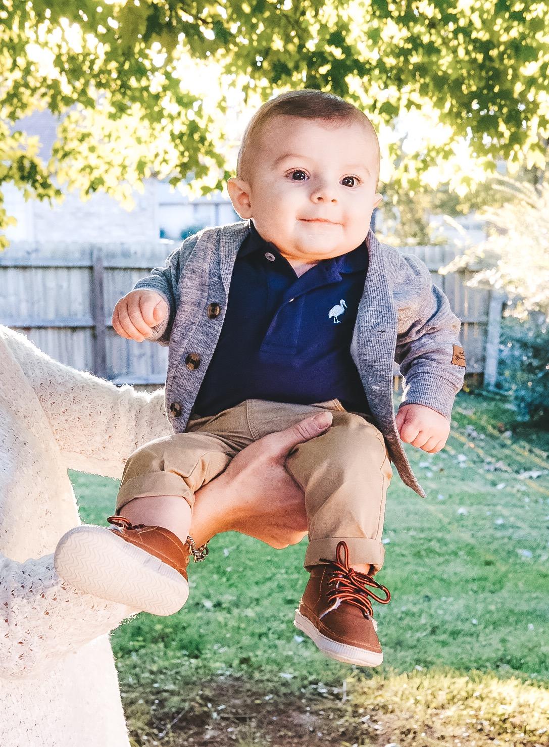 Baby Boy Fall Style.