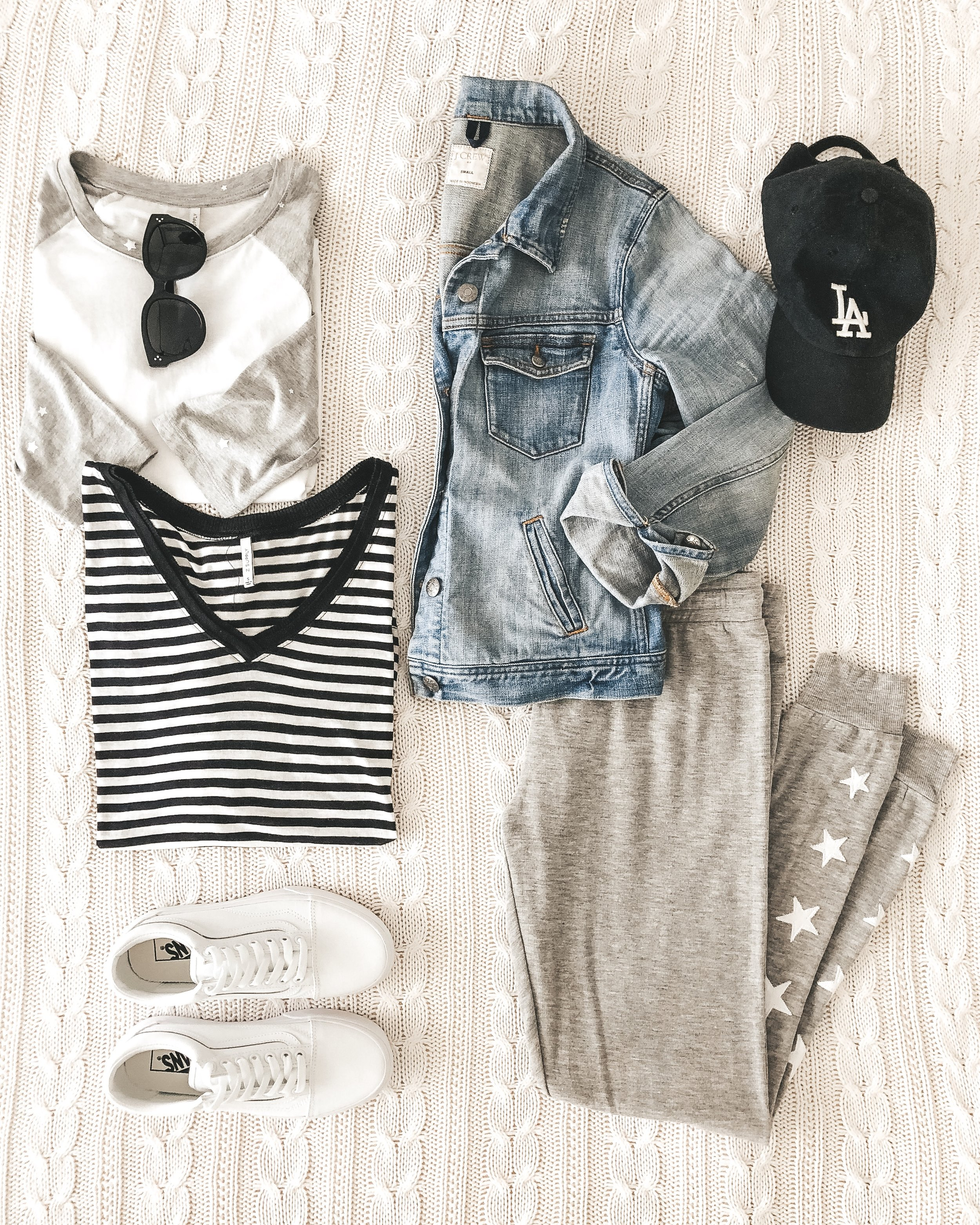 Cute weekend outfits from Z Supply.