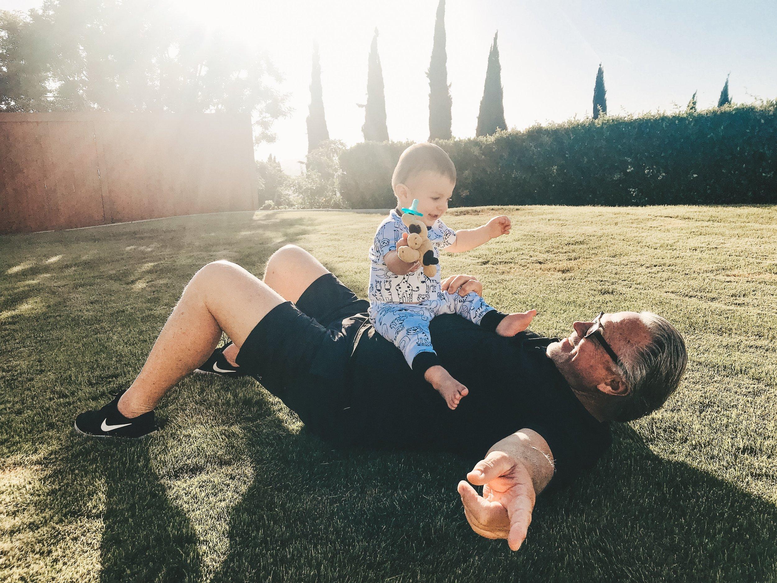 Jett Jones 12 Month Update.  Family photo ideas.