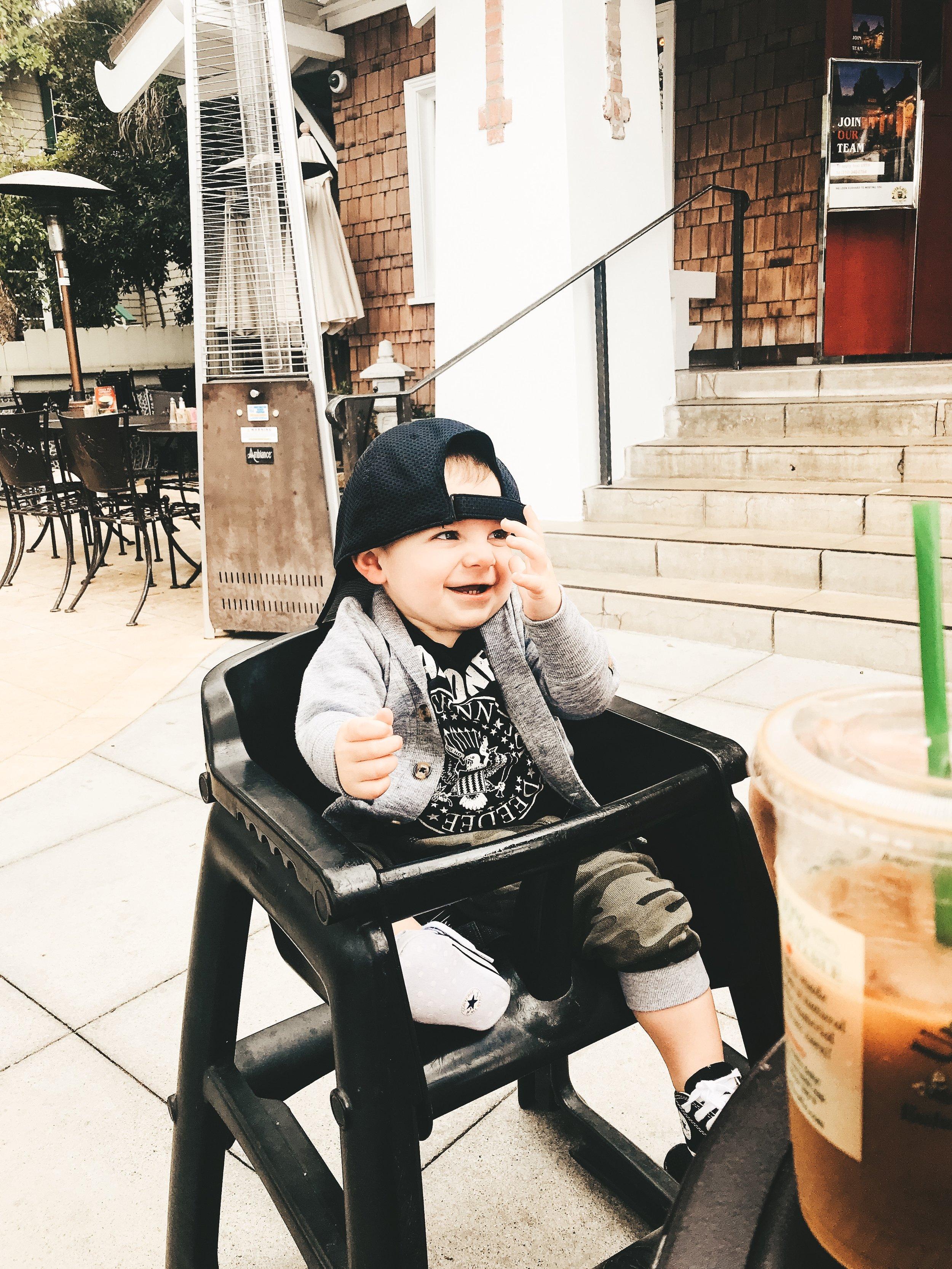 Jett Jones 12 Month Update.  Baby boy style.  Baby boy converse chuck taylors.