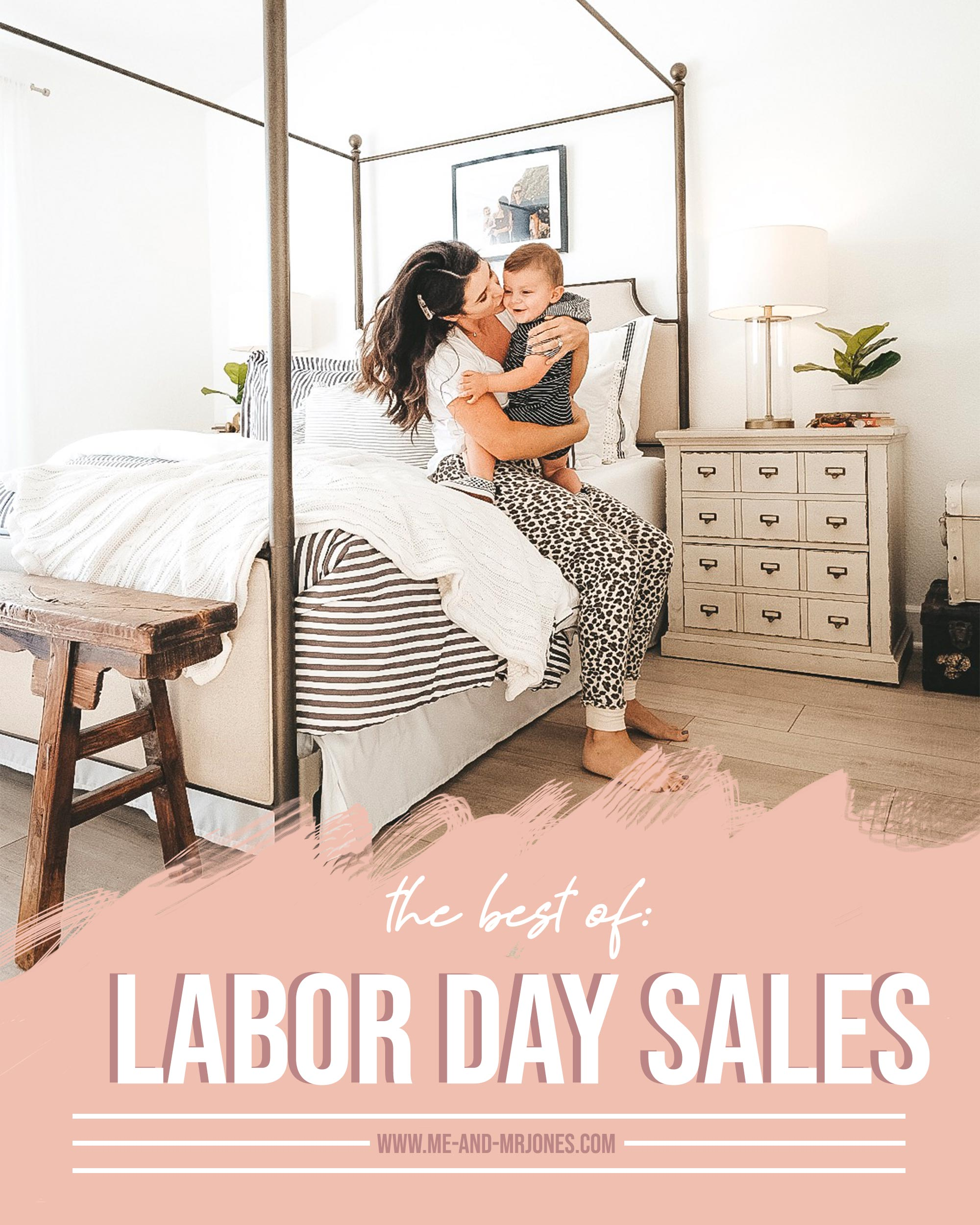 Labor Day 2019 Sales.  Women's clothing on sale for labor day.  Kids clothing on sale for labor day.  Home decor and furniture on sale for labor day.