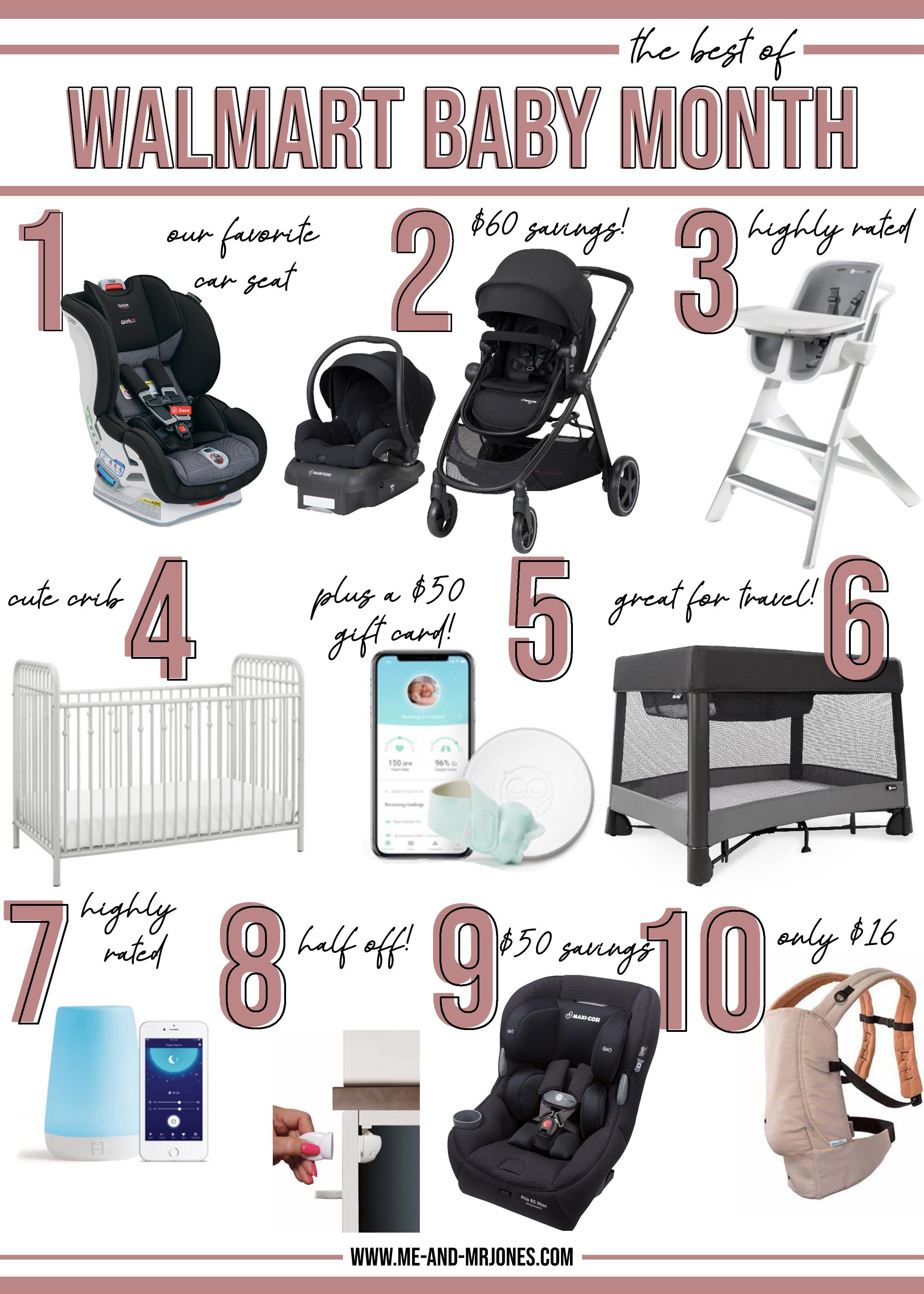 Walmart Baby Month