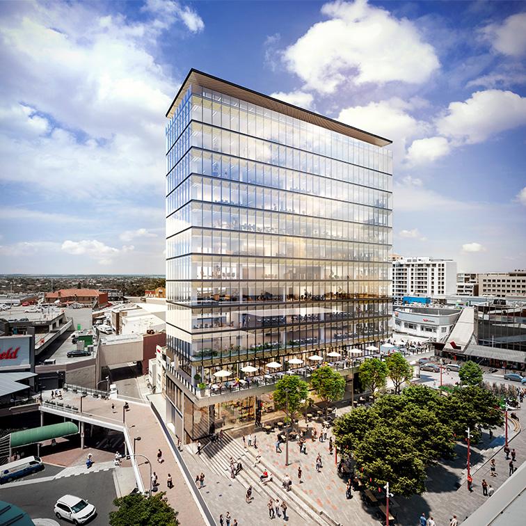 One Hurstville Plaza_Ganellen_building