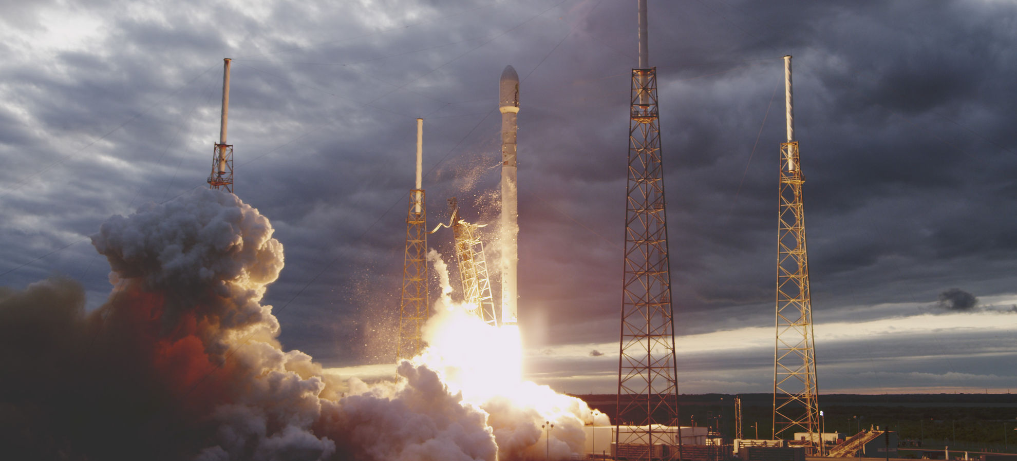 Falcon 9 Space X Elon Musk Launch