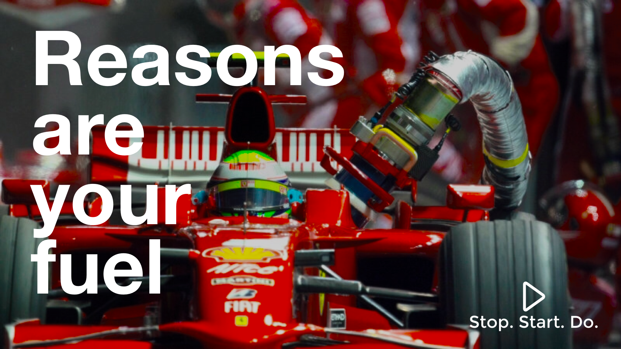 Reasons are your fuel StopStartDo Formula 1 driver