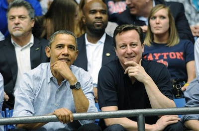 Obama and Cameron displaying mirroring in action. Image from  Body Language Success .